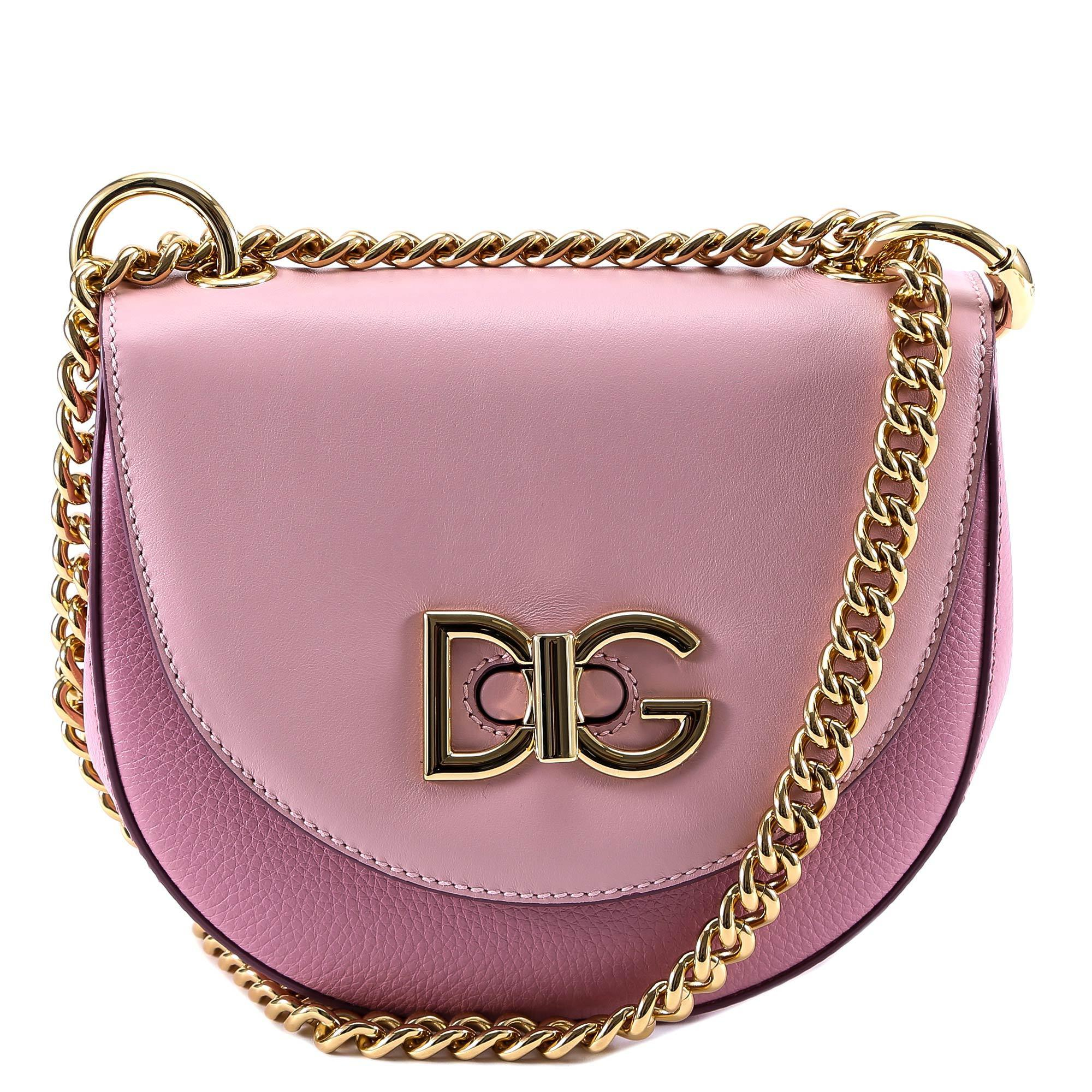 Lyst - Dolce   Gabbana Wifi Shoulder Bag in Pink 602eae7fb4bde