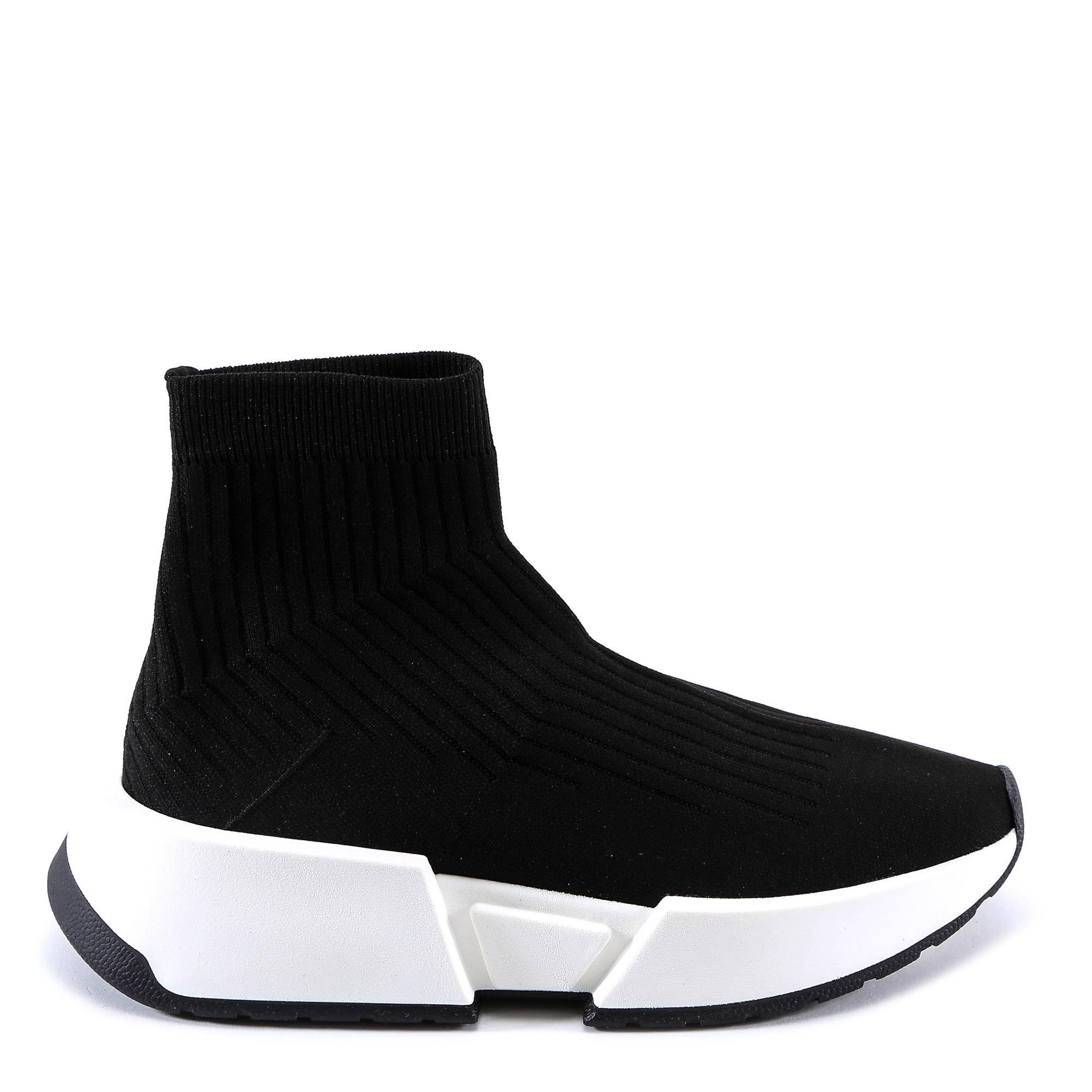 e84fb232c2c78 By Martin Mm6 Sneakers Lyst Maison Black Men Margiela For Sock In fq4wCOC