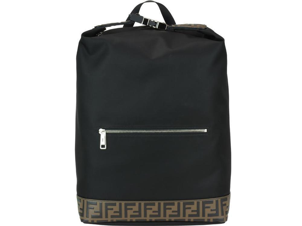 31419b733e43 Fendi Monogram Stripe Backpack in Black - Lyst