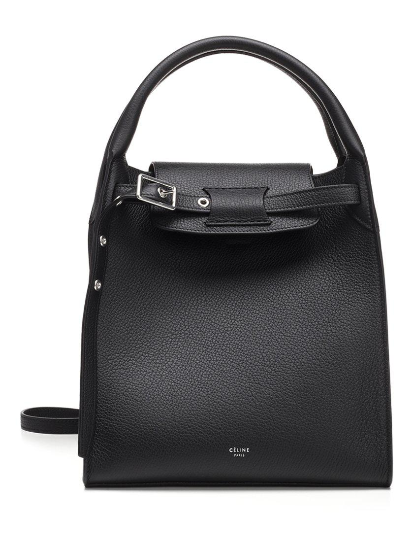 Céline - Black Small Big Smooth Calf Leather Tote Bag - Lyst. View  fullscreen 0aa7de84cf