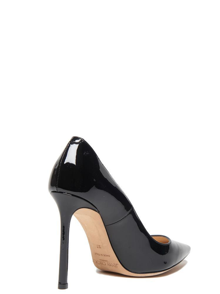 a444663f706 Jimmy Choo. Women s Black Patent Leather Romy 100 Court Shoes