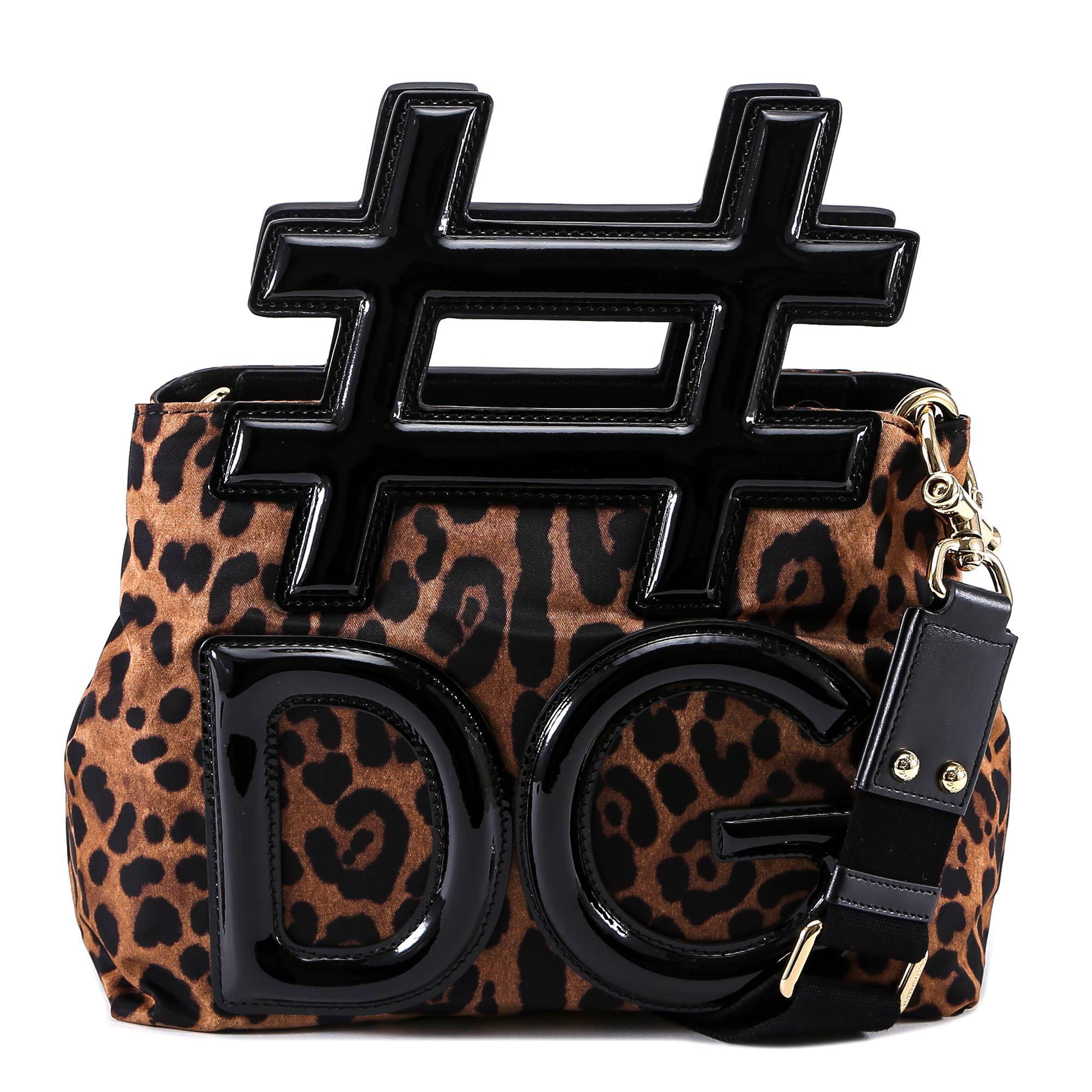 53626a145d0f Dolce   Gabbana  dg Tote Bag in Brown - Lyst