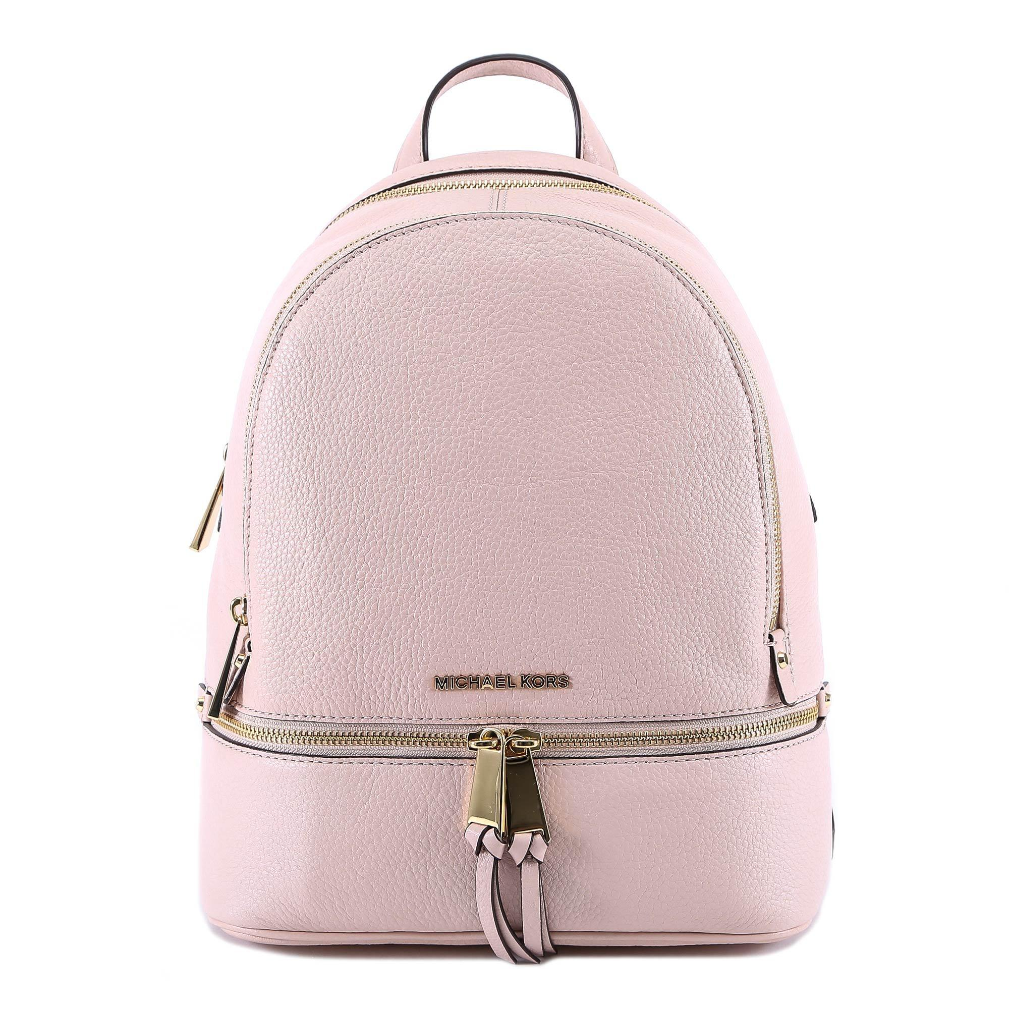 3c442691ddac MICHAEL Michael Kors Small Rhea Backpack in Pink - Lyst