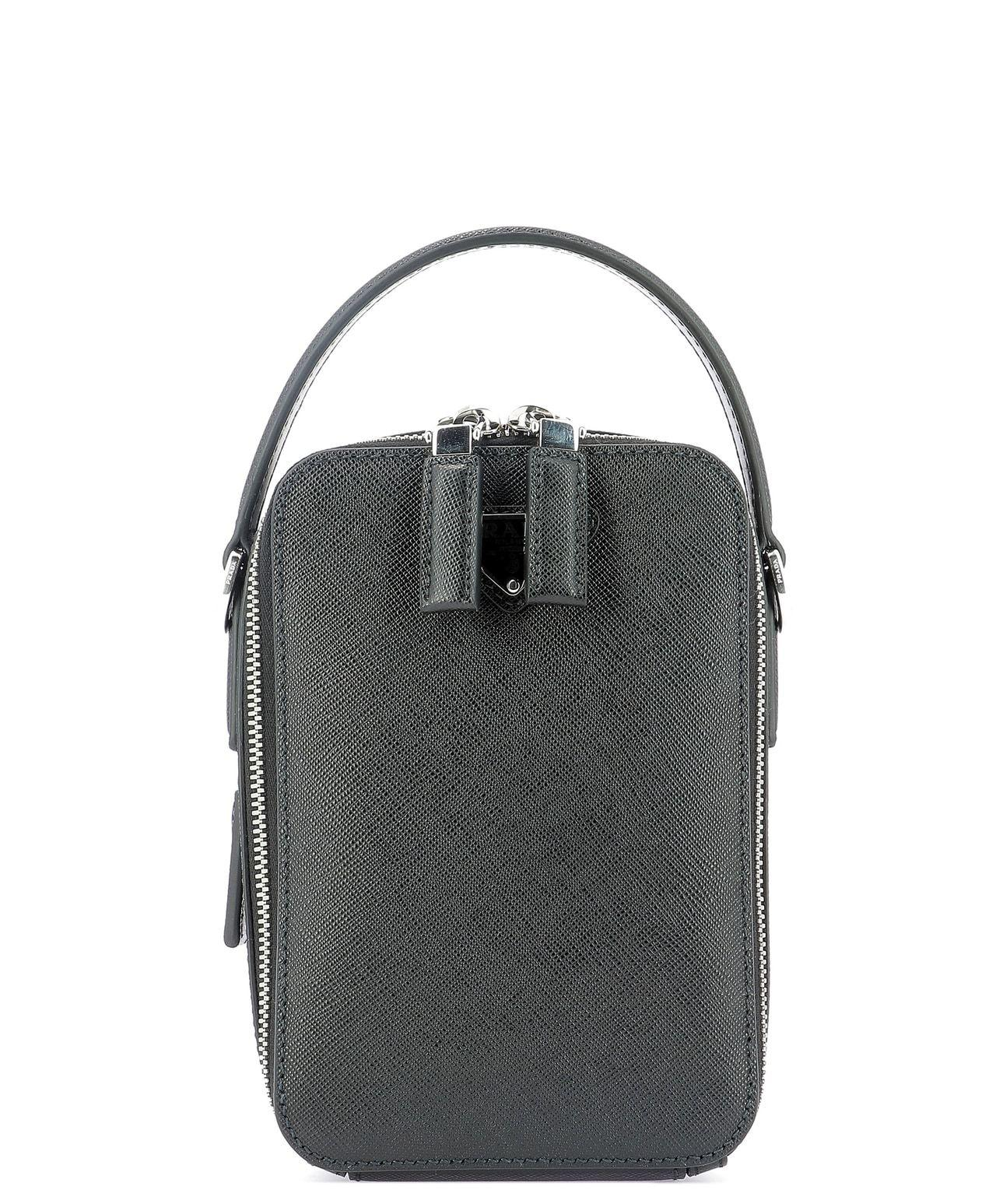 110d80d6095d Lyst - Prada Bandoliera Crossbody Bag in Black for Men