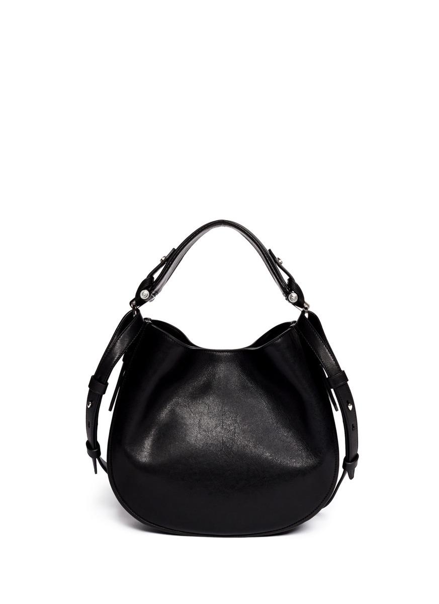 a6462d8b683 Lyst - Givenchy Obsedia Zanzi Small Hobo Bag in Black