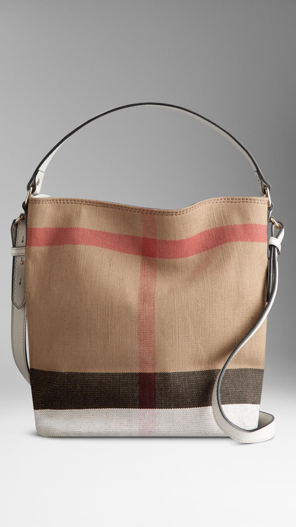 Burberry Crossbody Bucket Bag