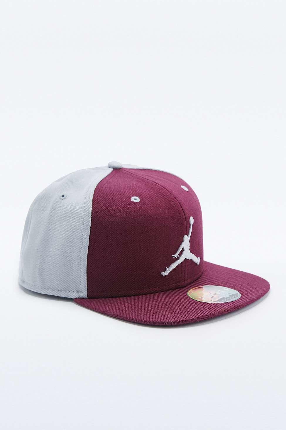 Nike Air Jordan Snapback Cap in Purple for Men - Lyst 16371479c