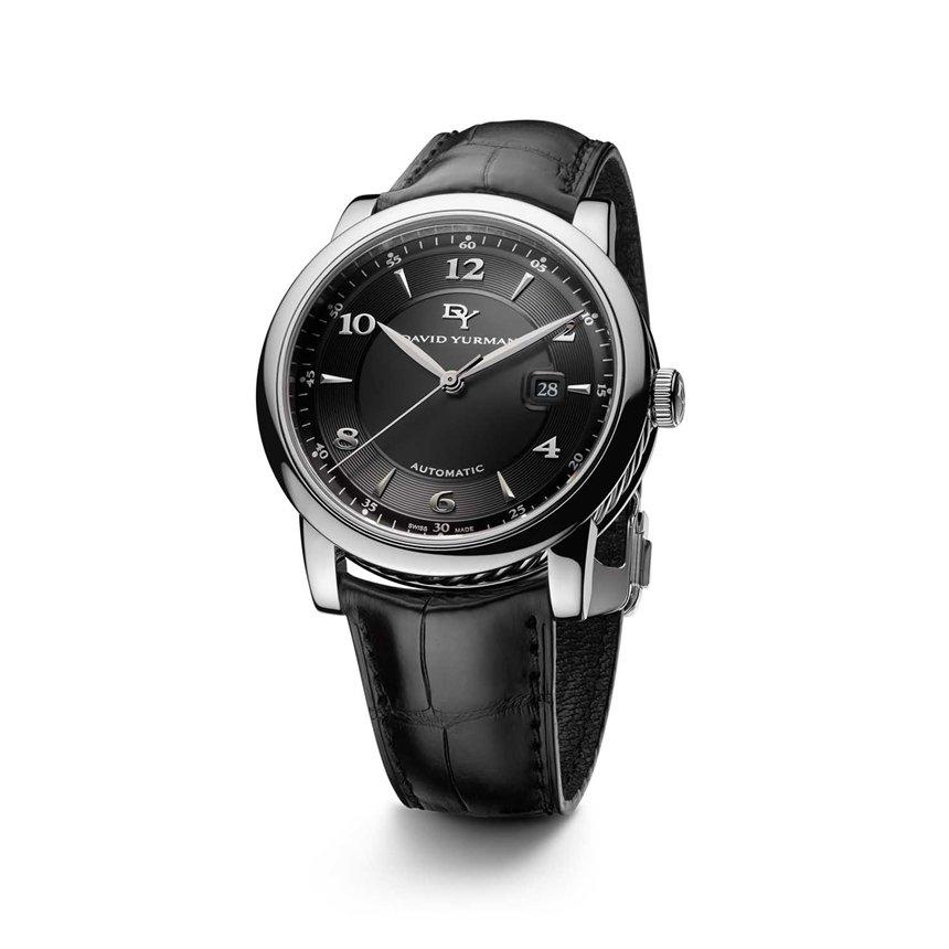 david yurman mens classic 435mm automatic in black for