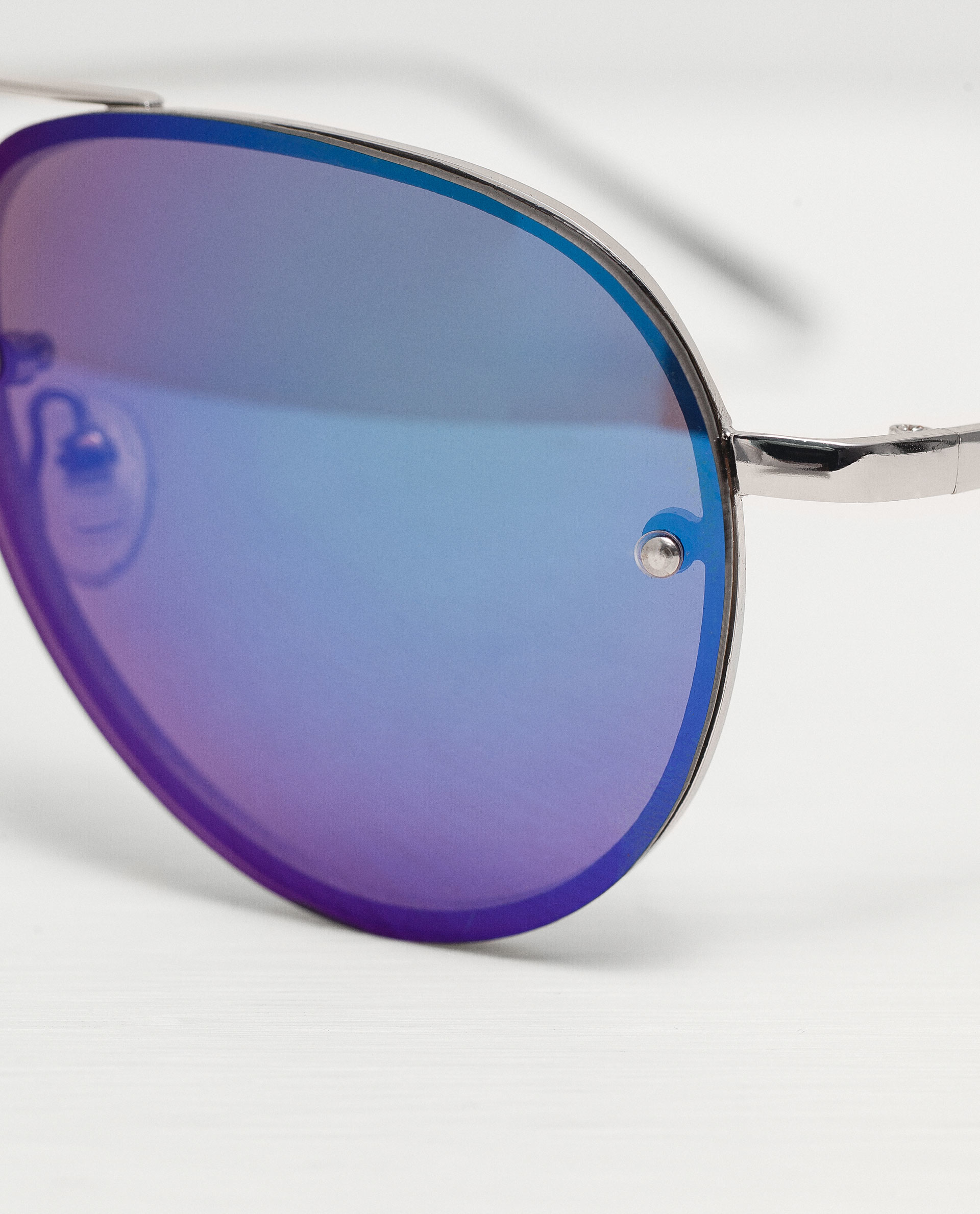 blue tinted aviator sunglasses  Zara Blue Tint Aviator Sunglasses Blue Tint Aviator Sunglasses in ...