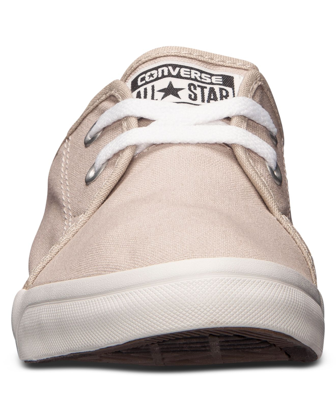 c8b53a4fd6a3 Lyst - Converse Men S All Star Riff Canvas Casual Sneakers From Finish Line  in Natural for Men