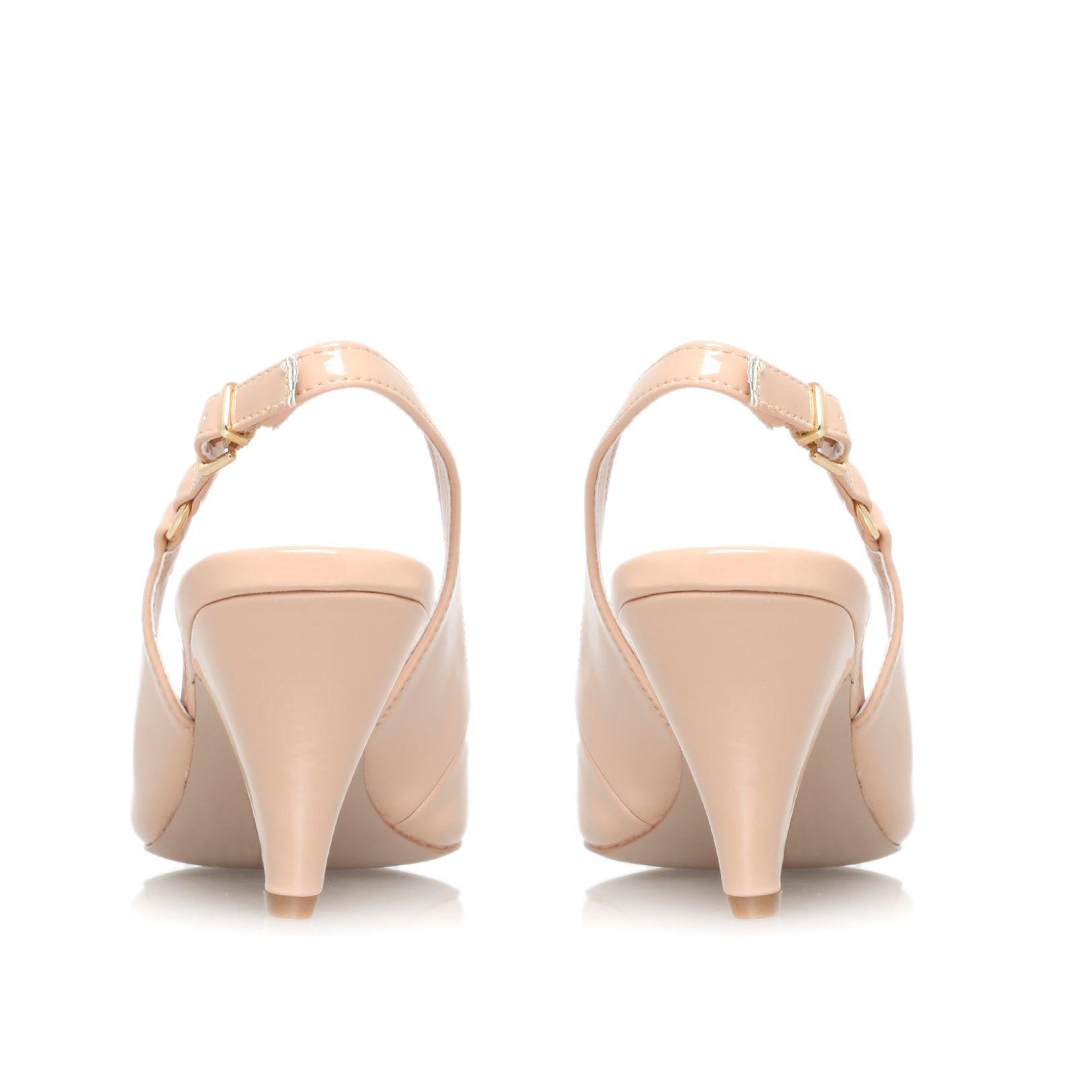 Nude Shoes Mid Heel