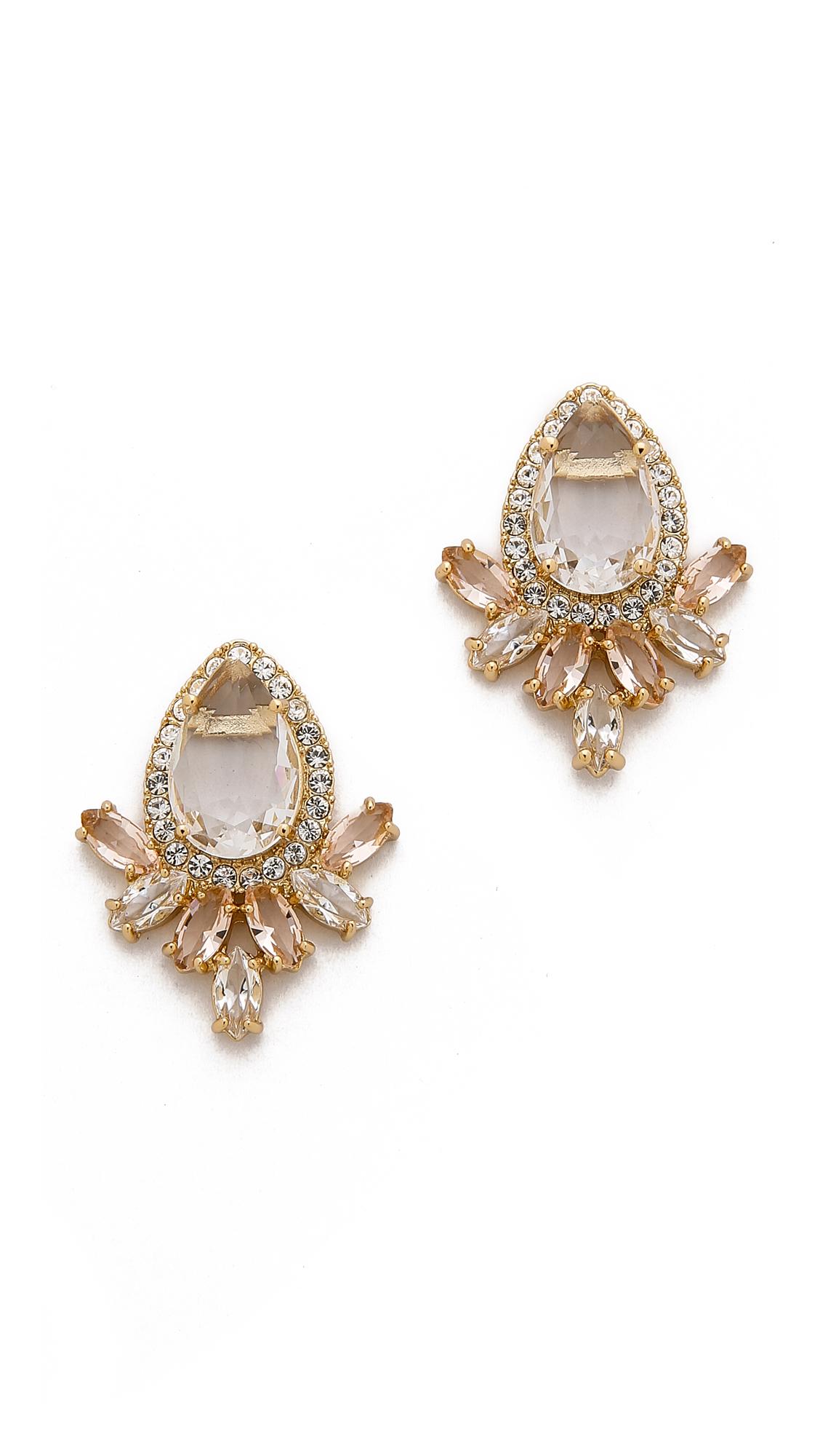 Lyst Kate Spade New York Razzle Dazzle Cluster Earrings