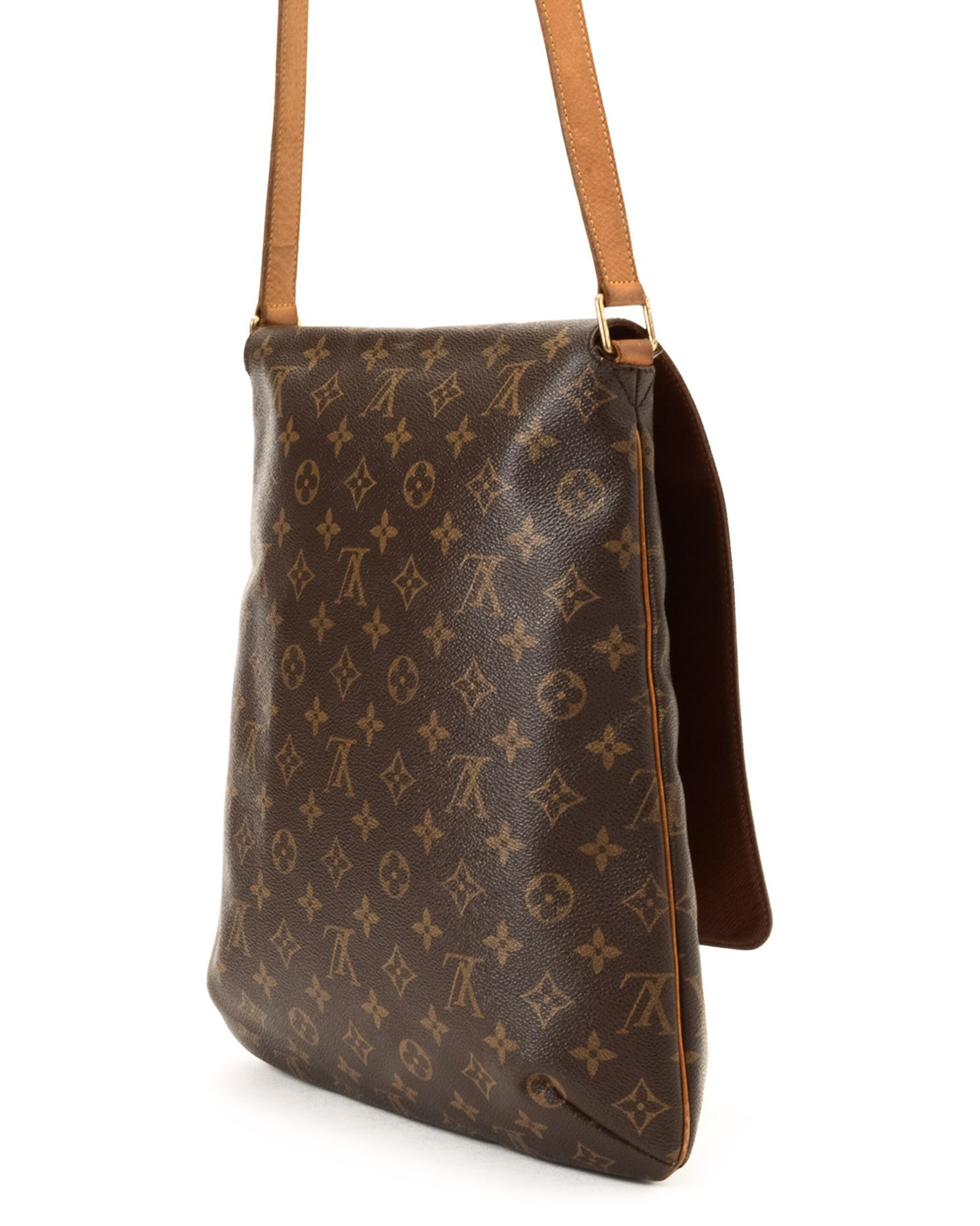Lyst - Louis Vuitton Brown Shoulder Bag - Vintage in Brown