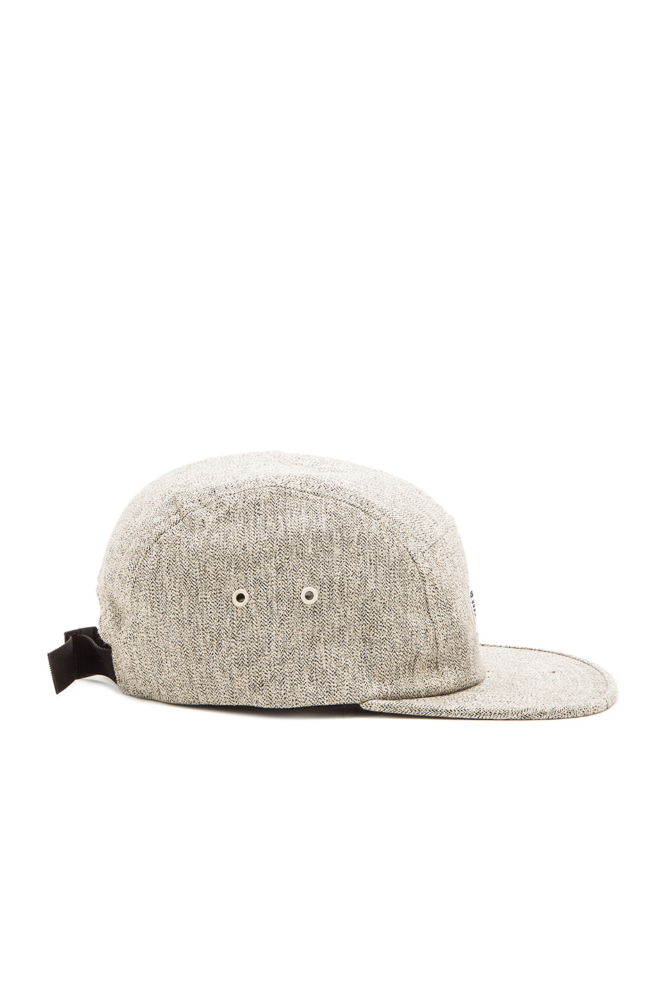 Lyst - Norse Projects Melange Herringbone 5 Panel Hat in Gray for Men 33f06469d49