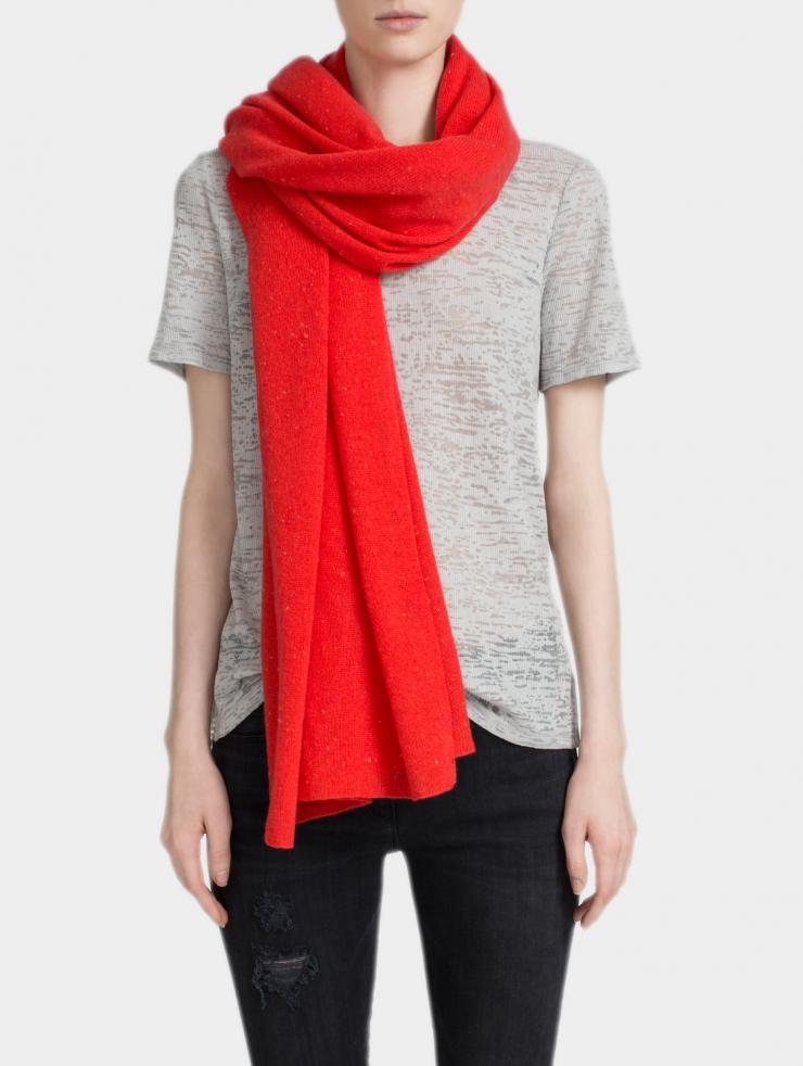 White + warren Cashmere Travel Wrap in Red | Lyst