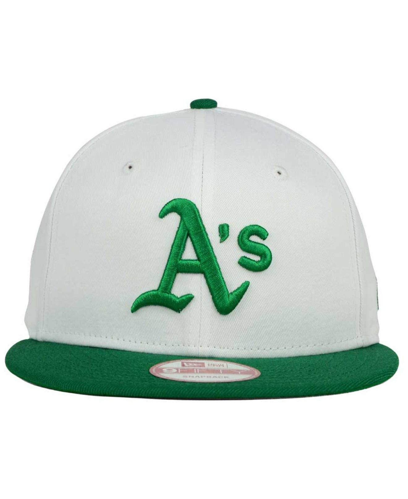 fa49a08deea89a KTZ Oakland Athletics 2 Tone Link Cooperstown 9fifty Snapback Cap in ...