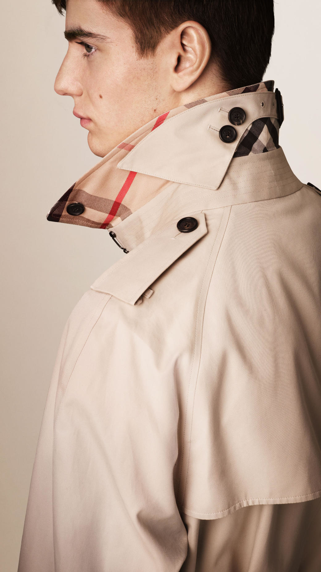 fc1bee6fa30e Lyst - Burberry The Westminster - Long Heritage Trench Coat in ...