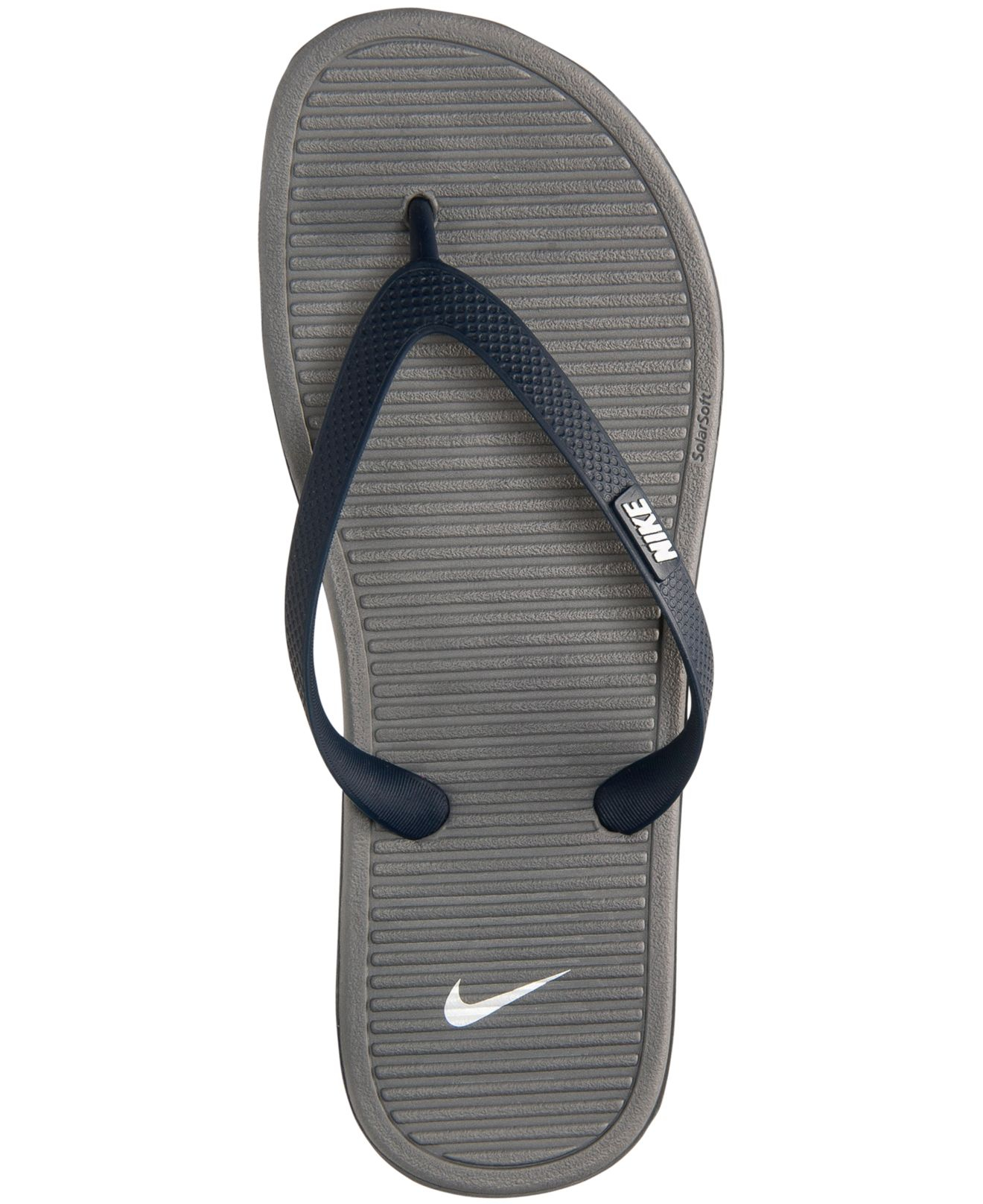 31ceed8755c28 Lyst - Nike Men s Solarsoft Thong Ii Sandals From Finish Line in ...