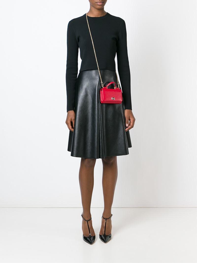 Dolce & Gabbana Sicily small shoulder bag Bl49IBG