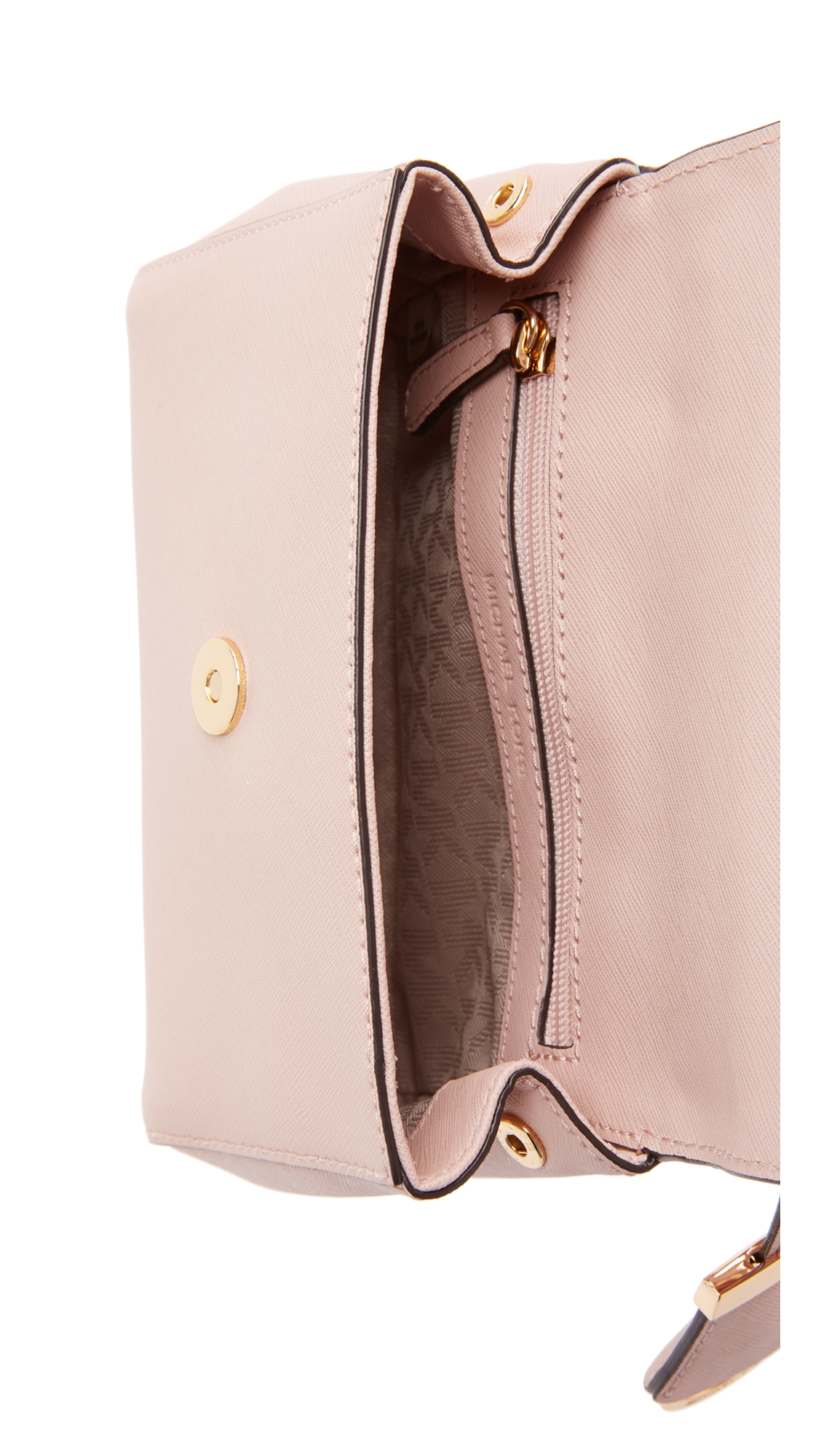 6e2f8234a8a39 MICHAEL Michael Kors Ava Extra Small Cross Body Bag - Ballet in Pink ...