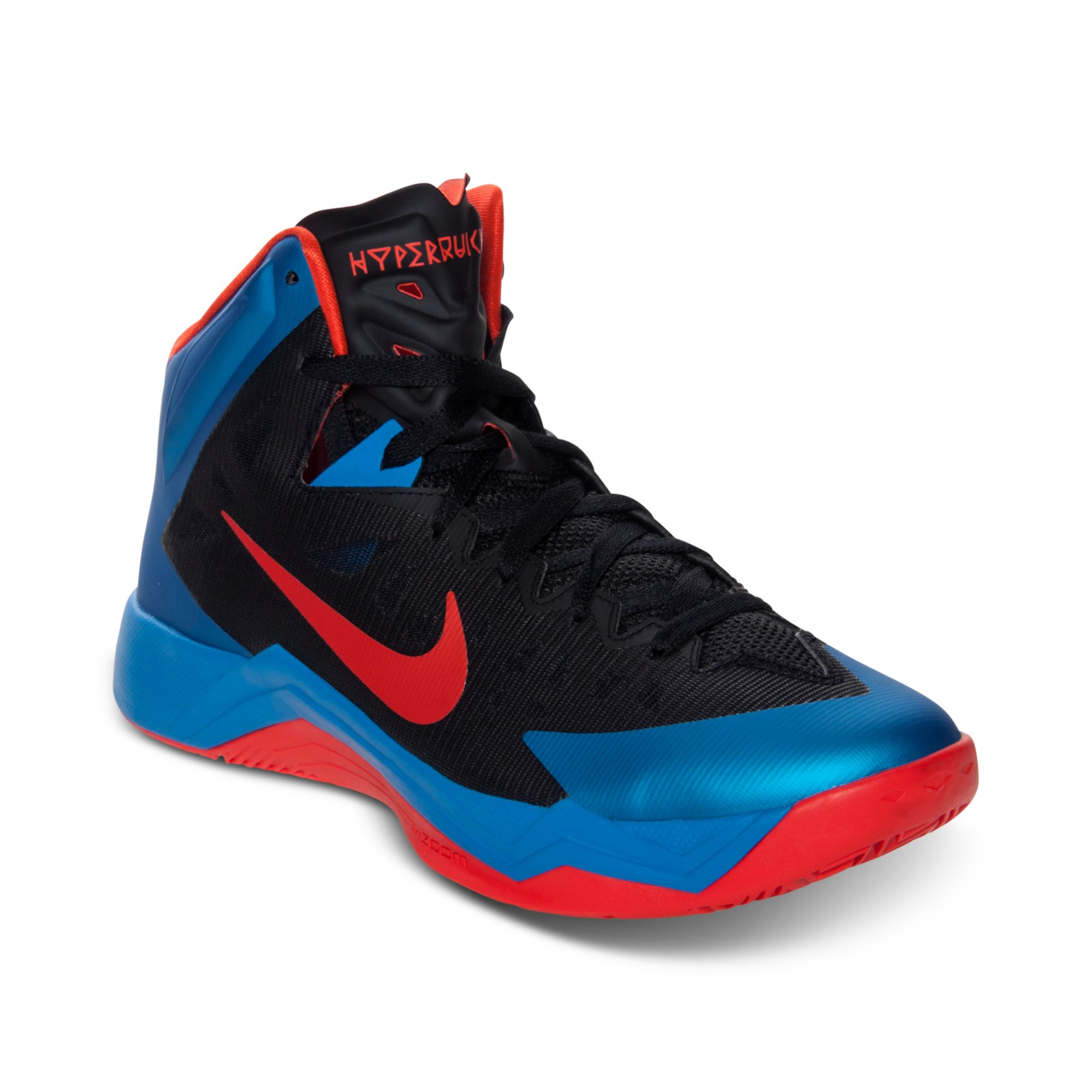 7a3c5c95bd67 Lyst - Nike Mens Hyper Quickness Basketball Sneakers From Finish ...
