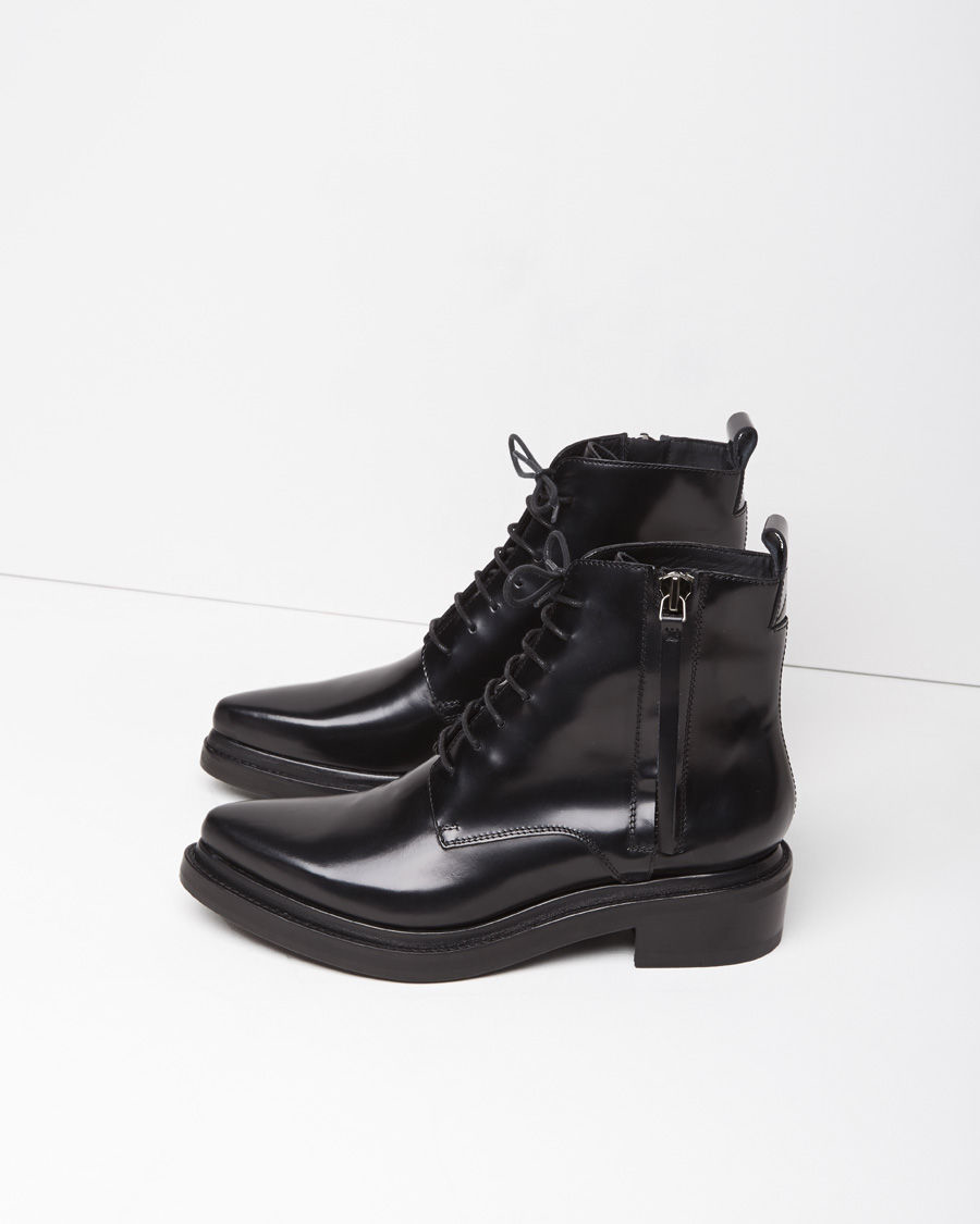acne studios linden boot in black lyst. Black Bedroom Furniture Sets. Home Design Ideas