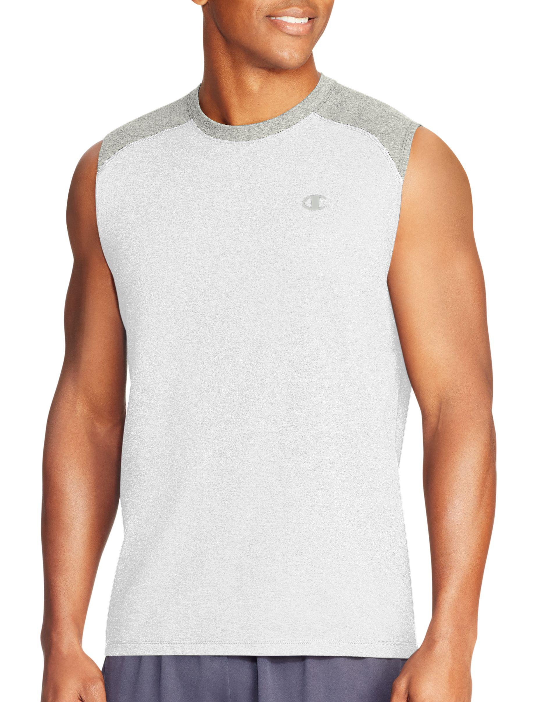 dbb9692195a9f Lyst - Champion Vapor® Cotton Muscle Tank in White for Men