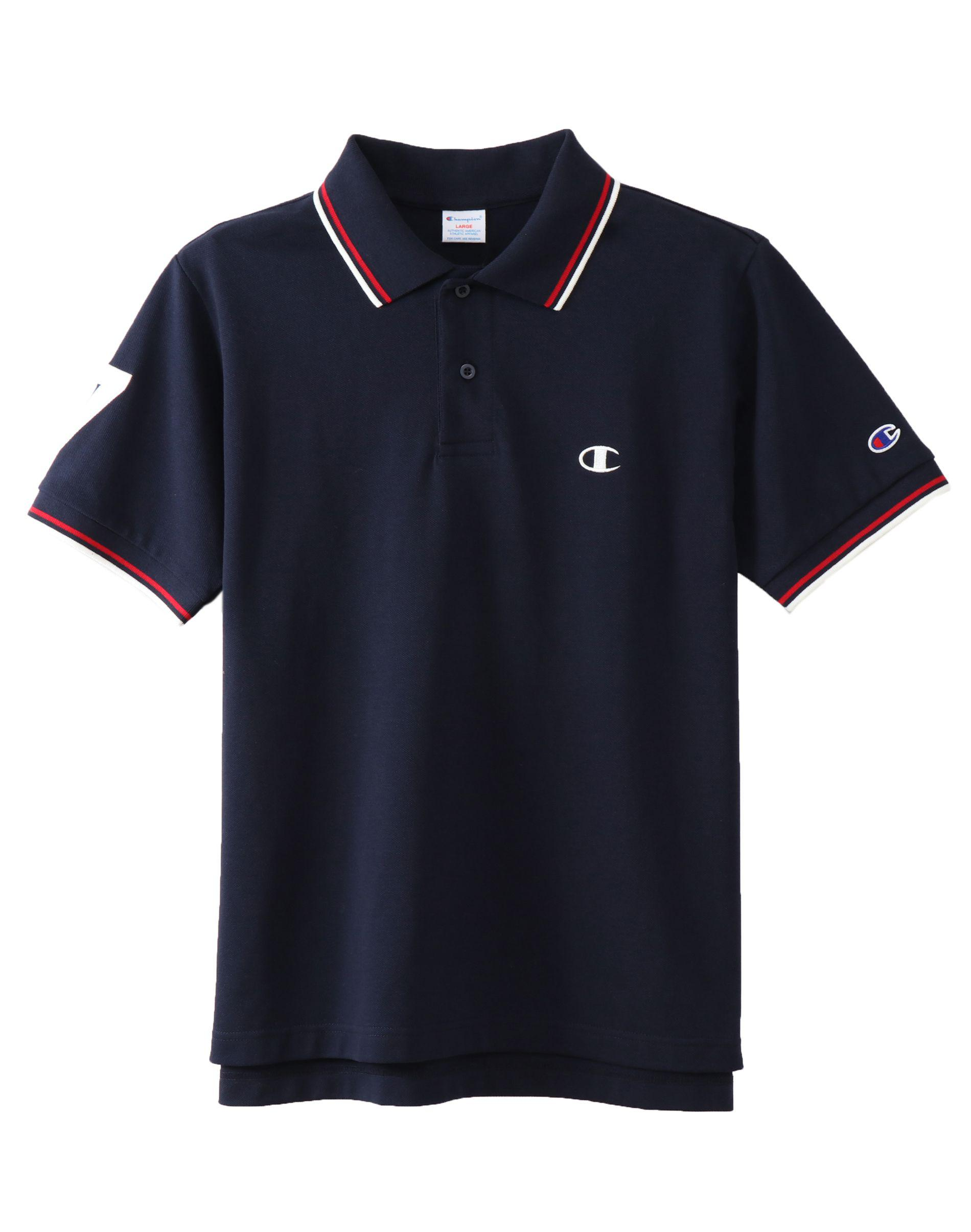 d0eb1d5b Champion Japan Premium Campus Polo Shirt in Blue for Men - Lyst