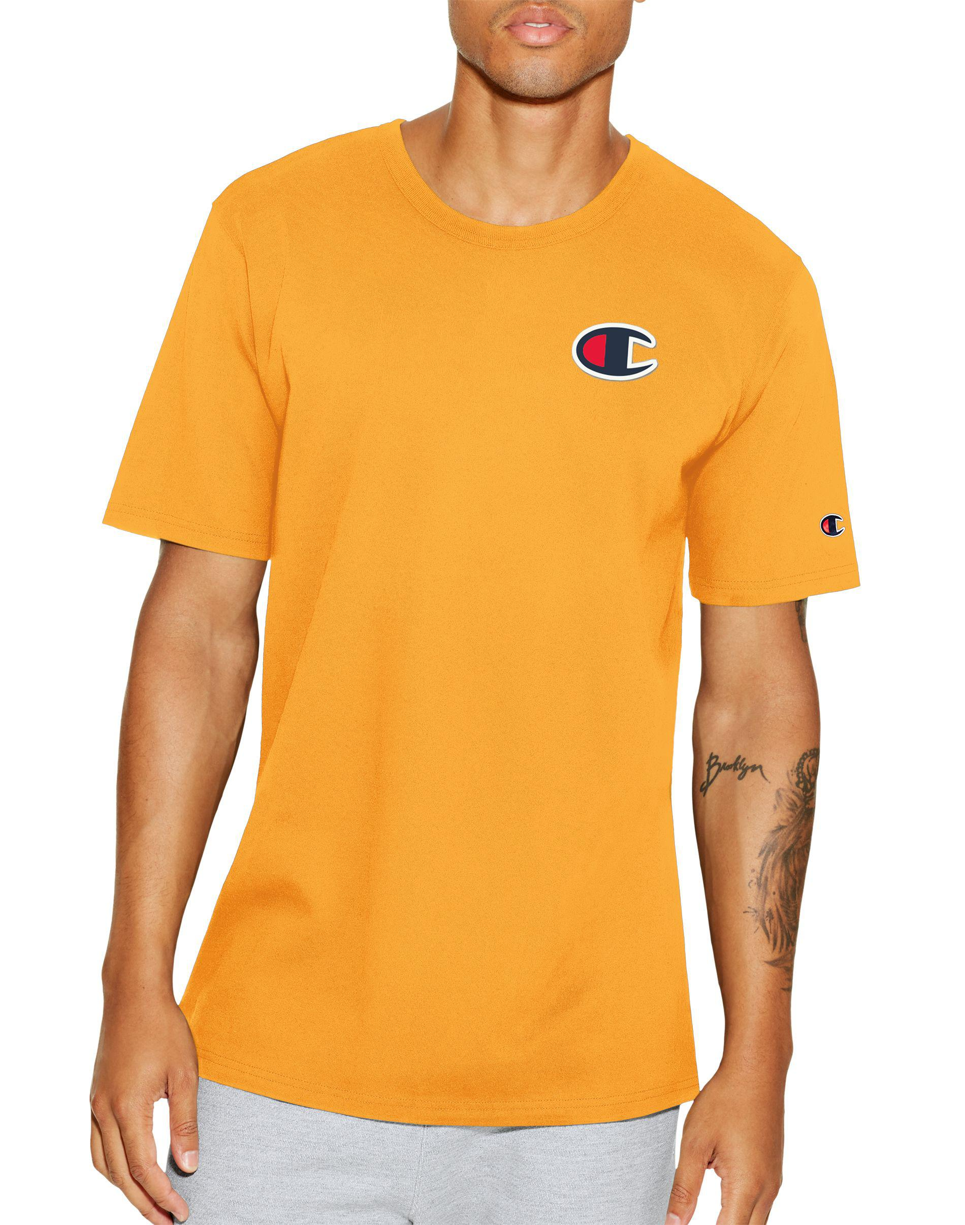82dede368 Lyst - Champion Lifetm Graphic Heritage Tee in Orange for Men