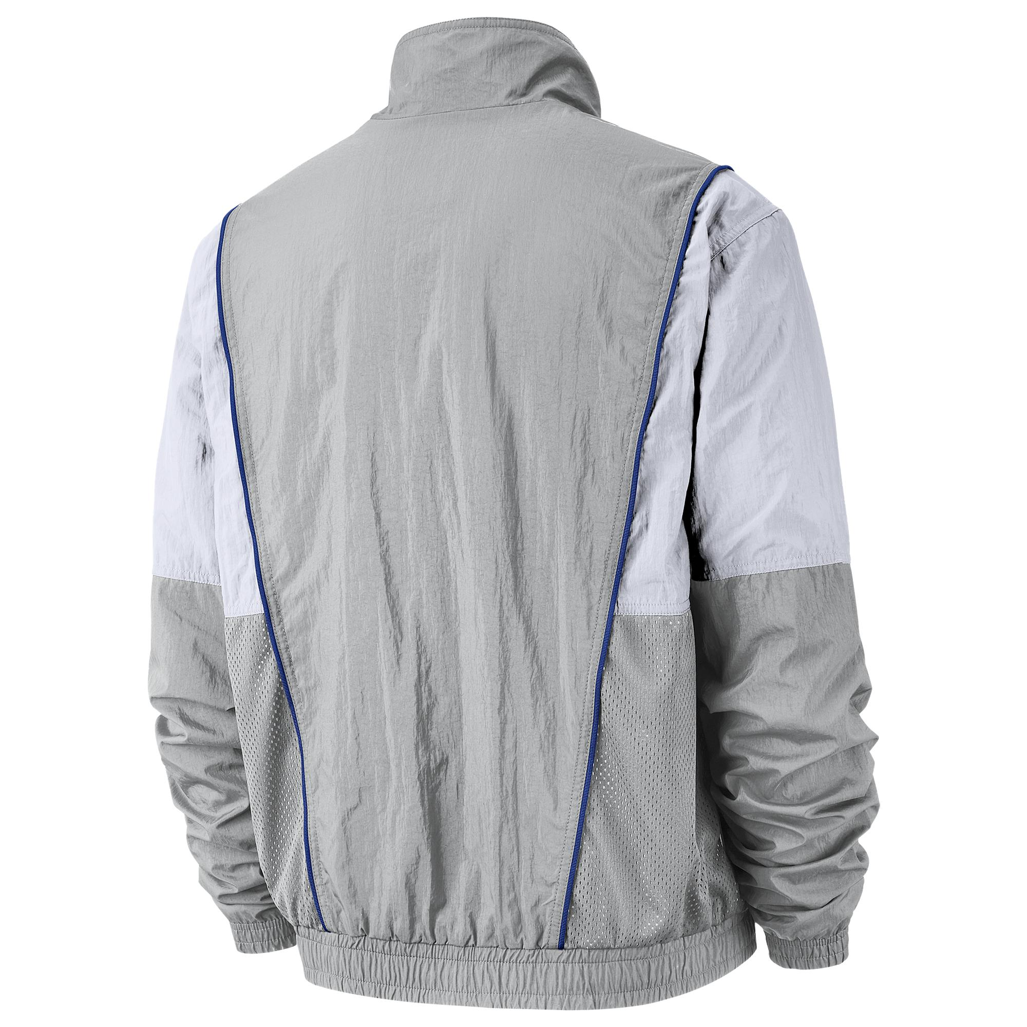 fdf58e54cad24 Nike - Gray Philadelphia 76ers Nba Courtside City Edition Nylon Jacket for  Men - Lyst. View fullscreen