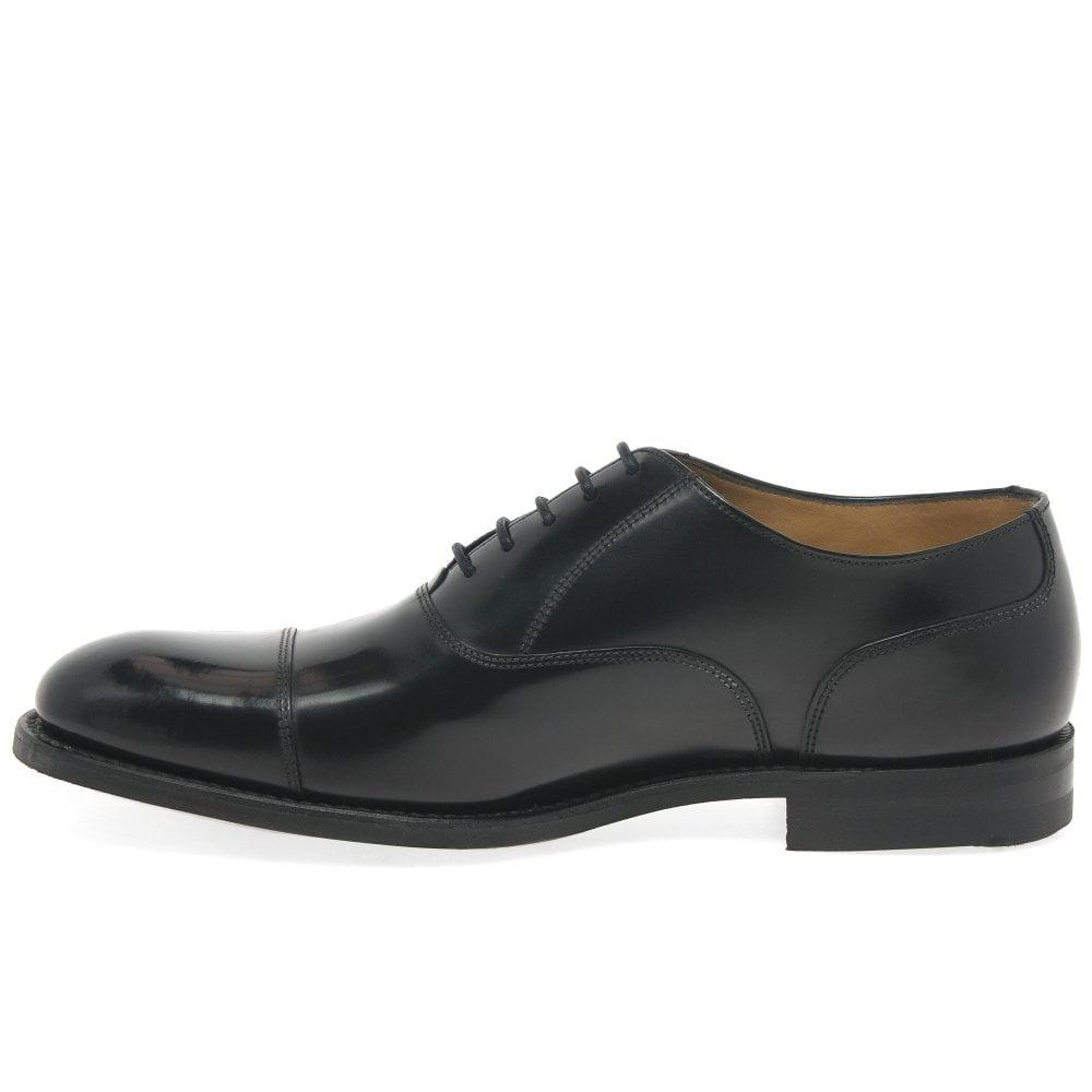 18074853f90d8 Loake Polished Oxford Shoes in Black for Men - Save 60% - Lyst