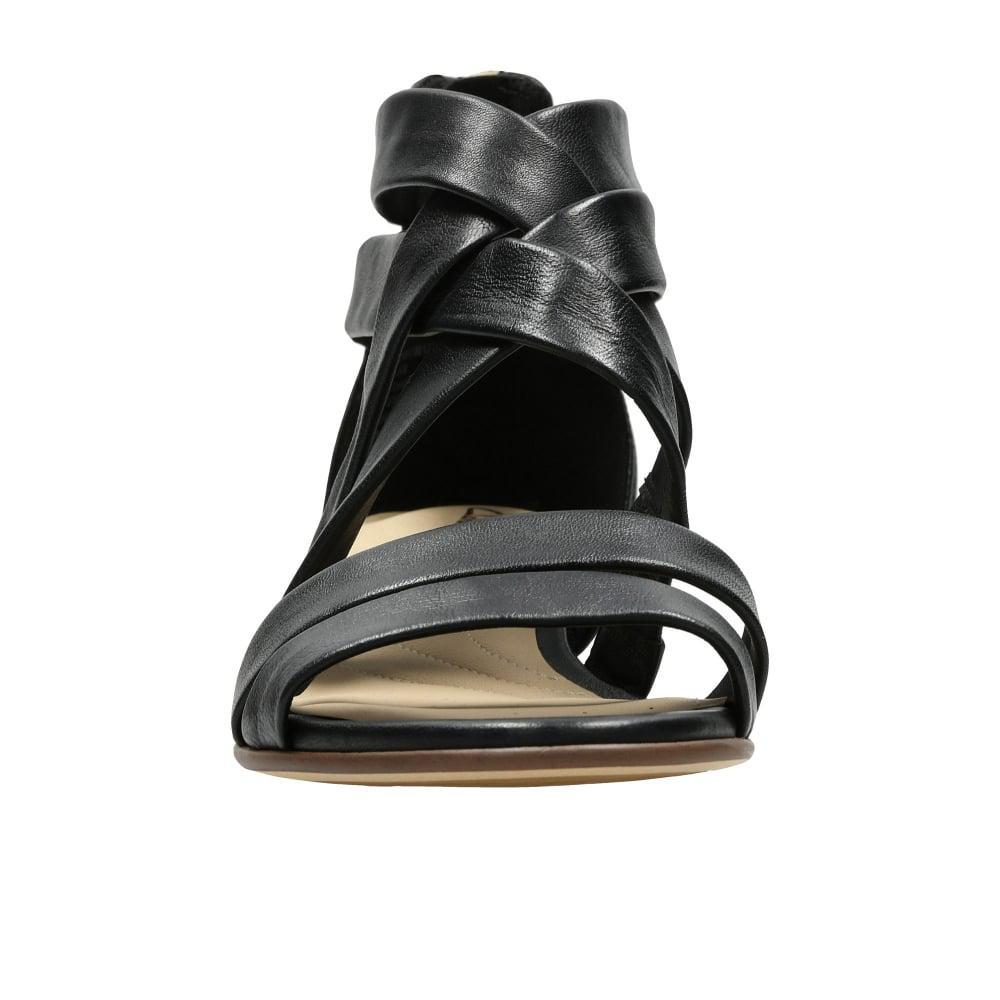 04c13a929488 Clarks - Black Mena Silk Womens Sandals - Lyst. View fullscreen