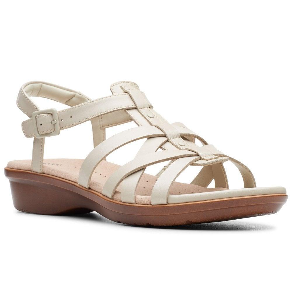 5097c6dedb9a Lyst - Clarks Loomis Katey Womens Wide Fit Fisherman Sandals