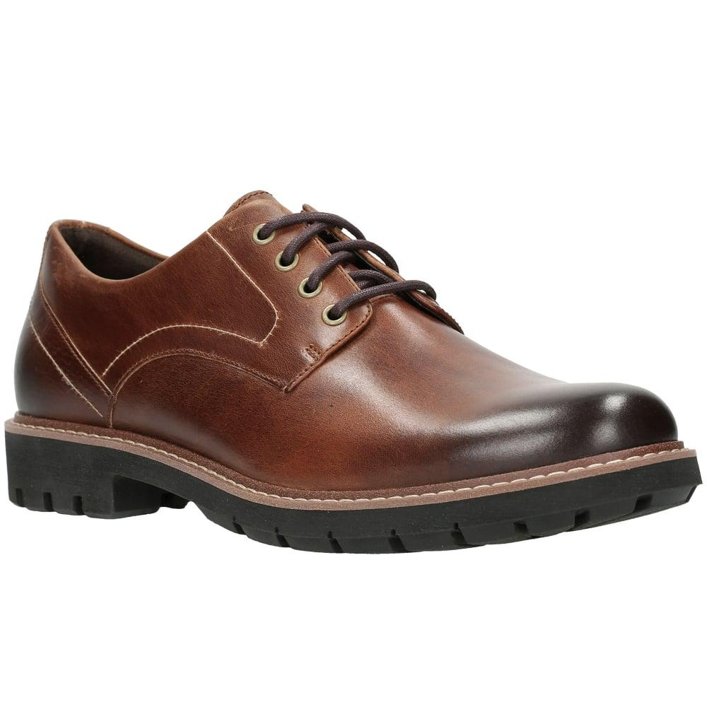 Clarks. Brown Batcombe Hall Mens Shoes