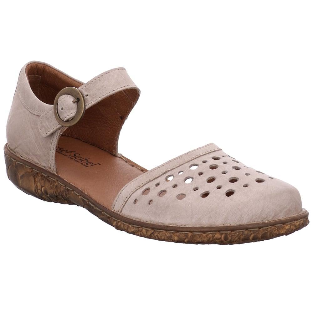 Womens Rosalie 19 Closed Toe Sandals, Cream Josef Seibel