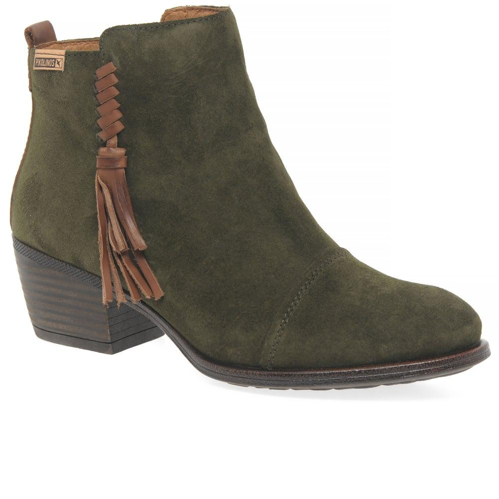 Pikolinos Womens Suede Shoes