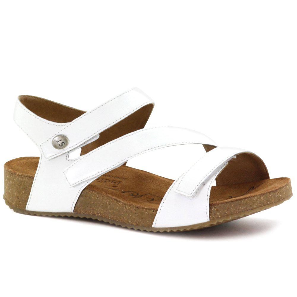 fake online outlet latest White 'Tonga 25' Womens Leather Sandals cheap sale many kinds of buy cheap top quality MW9mRfZ