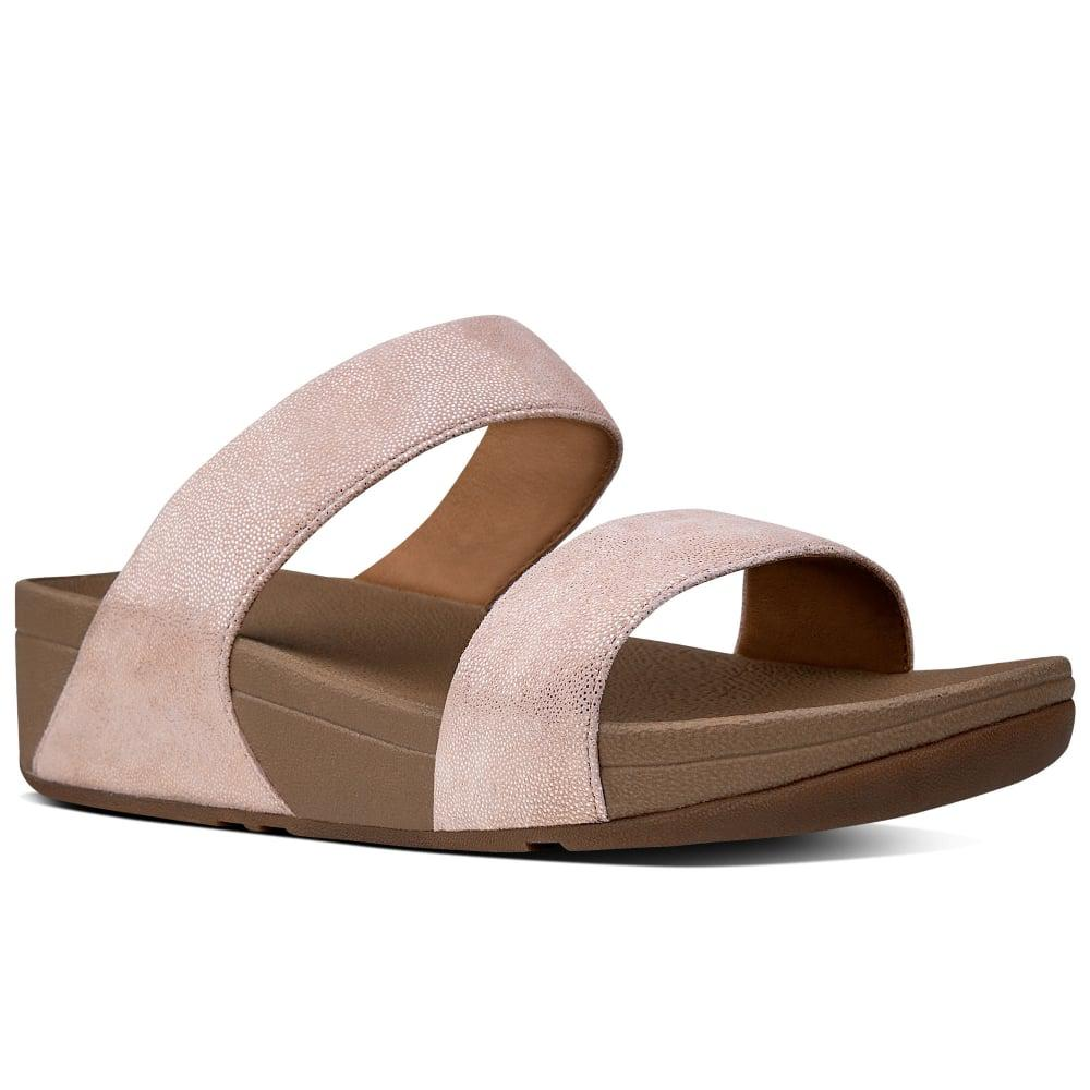 8360a54e8 Fitflop - Multicolor Shimmy Suede Slide Womens Sandals - Lyst