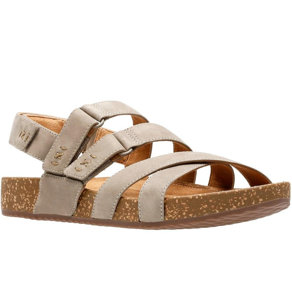 d5c5a262b Lyst - Clarks Rosilla Keene Womens Nubuck Sandals in Brown