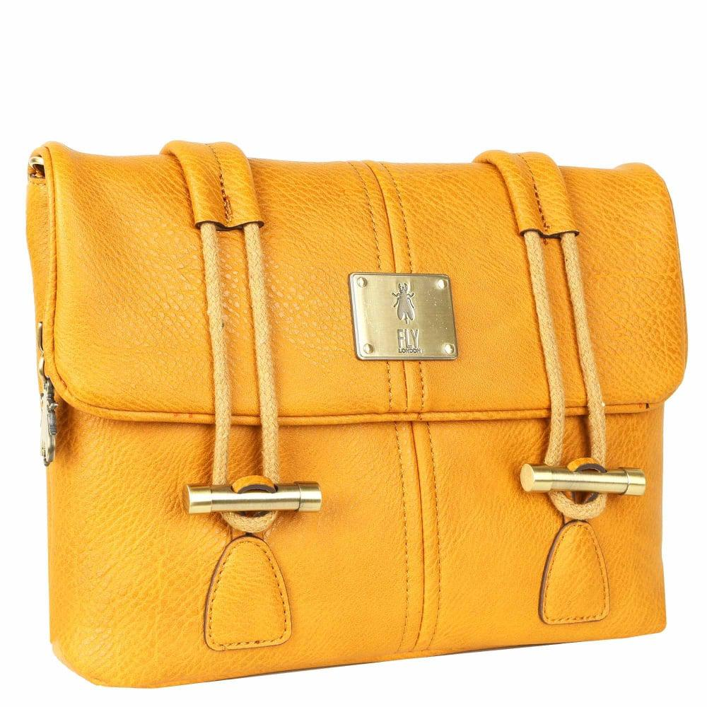15bf343454 Fly London - Yellow Dipi Womens Satchel Bag - Lyst. View fullscreen