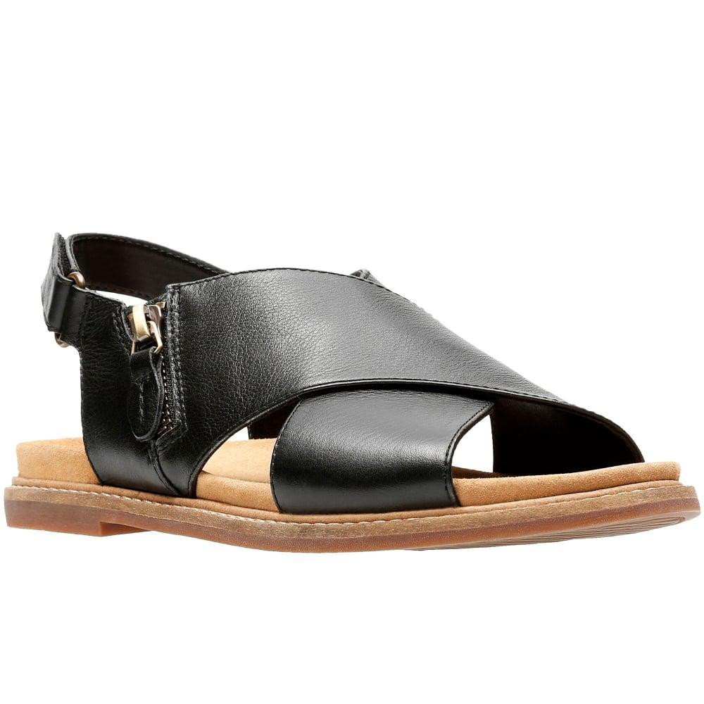 4cf45066168 Lyst - Clarks Corsio Calm Womens Slingback Sandal in Black