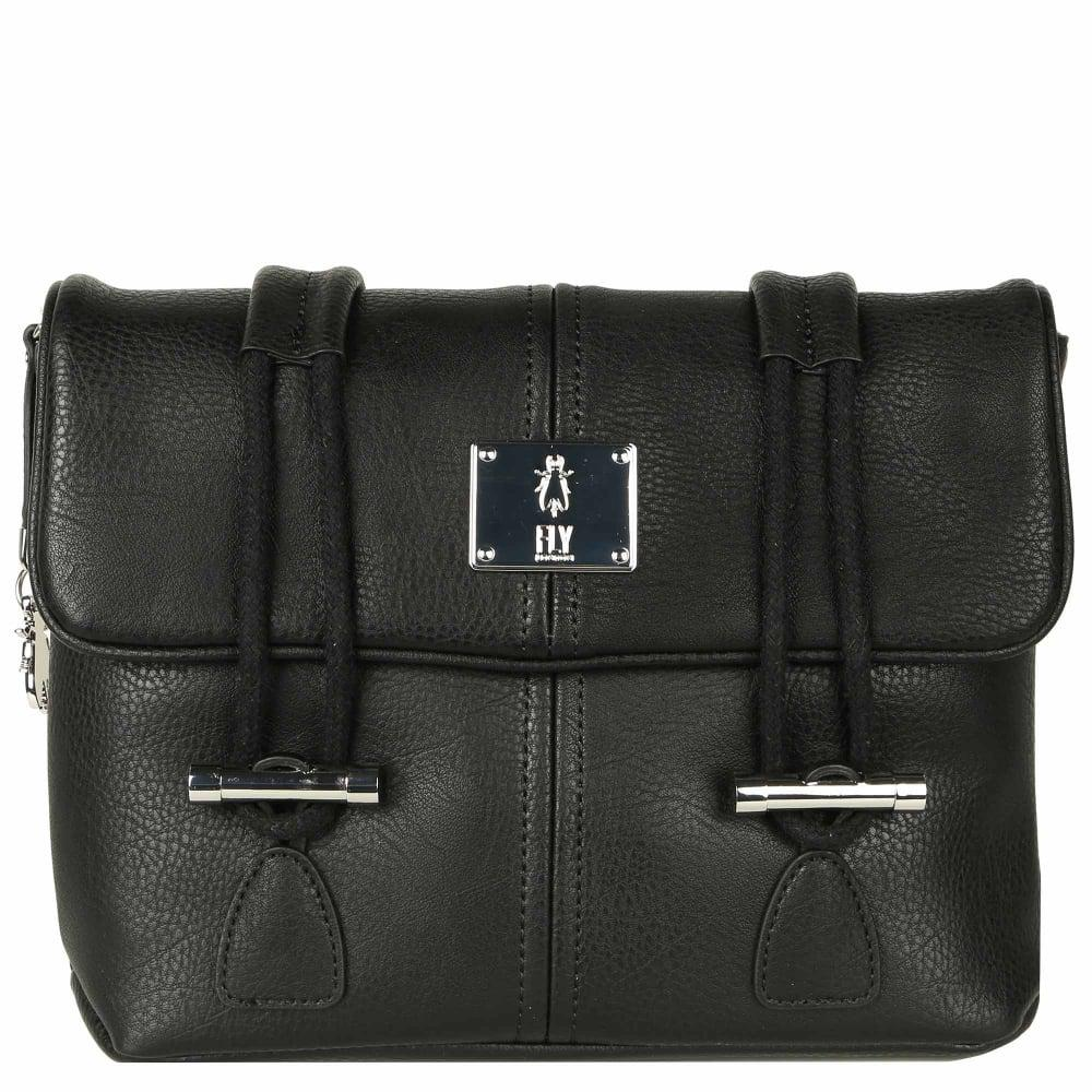 f4e1747ee6 Lyst - Fly London Dipi Womens Satchel Bag in Black