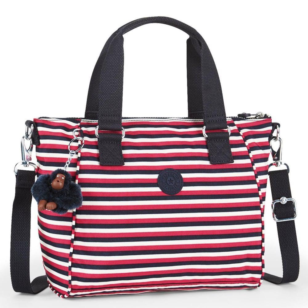 efaeefd96e Kipling Amiel Womens Canvas Handbag - Lyst