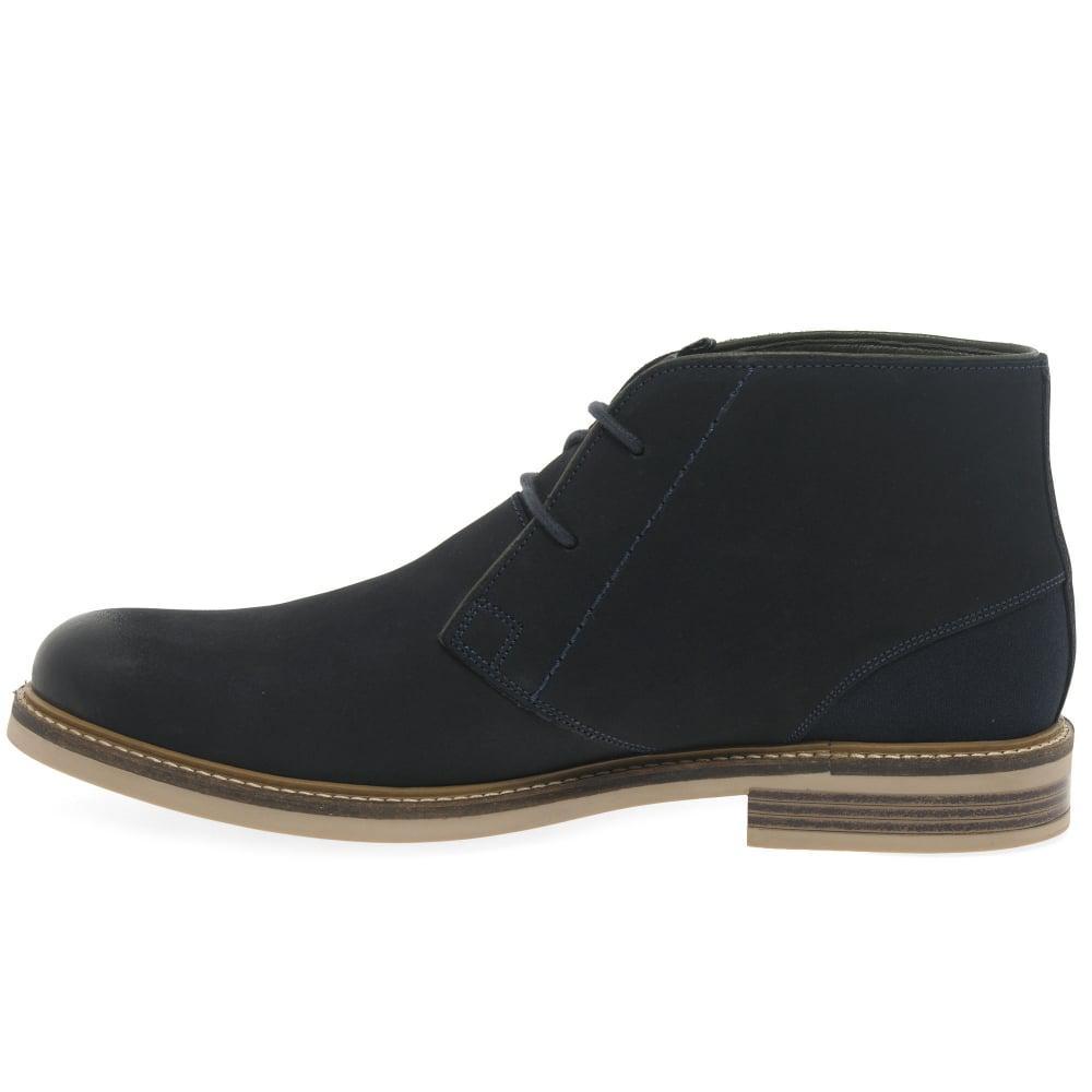 5d10e5ca758 Lyst - Barbour Readhead Mens Nubuck Chukka Boots in Blue for Men
