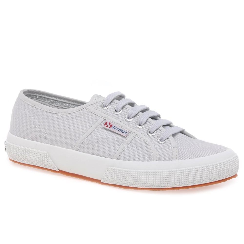 e970902fe0c Superga - Gray Cotu Classic Womens Lace Up Canvas Shoes - Lyst. View  fullscreen