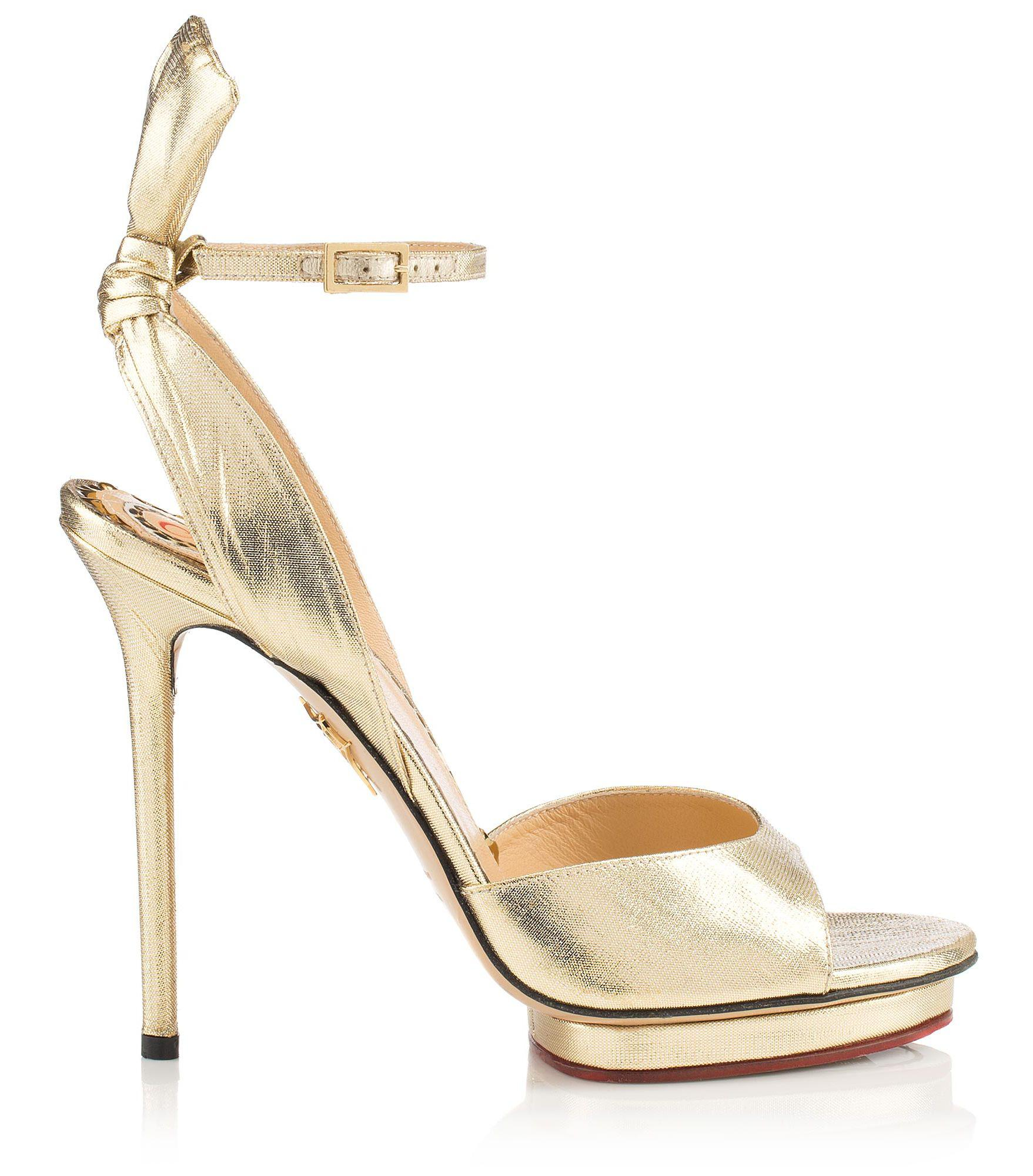 d2163d47b19 Charlotte Olympia Wallace in Metallic - Save 1% - Lyst
