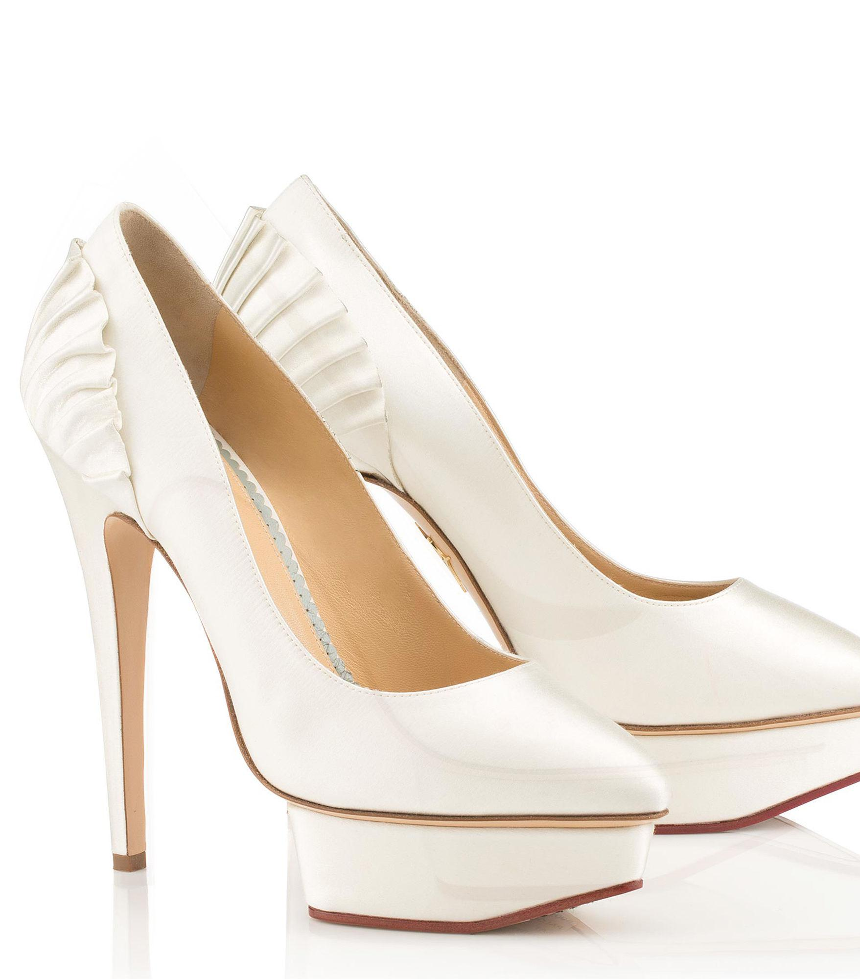 ffd7bbb60c9 Lyst - Charlotte Olympia Paloma in White