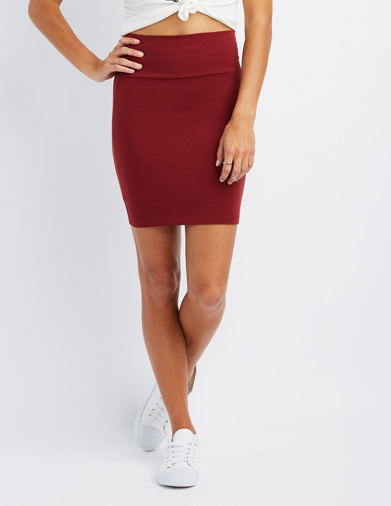 0a92cf1bb Gallery. Previously sold at: Charlotte Russe · Women's Bodycon Skirts