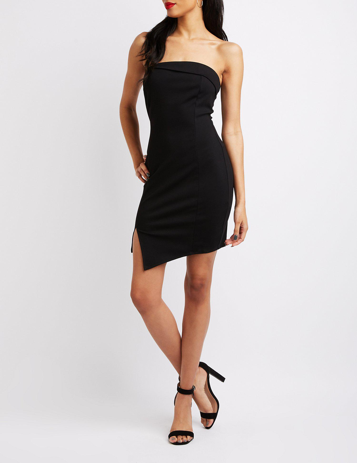 8cc41fac023 Gallery. Previously sold at  Charlotte Russe · Women s Bodycon Dresses ...