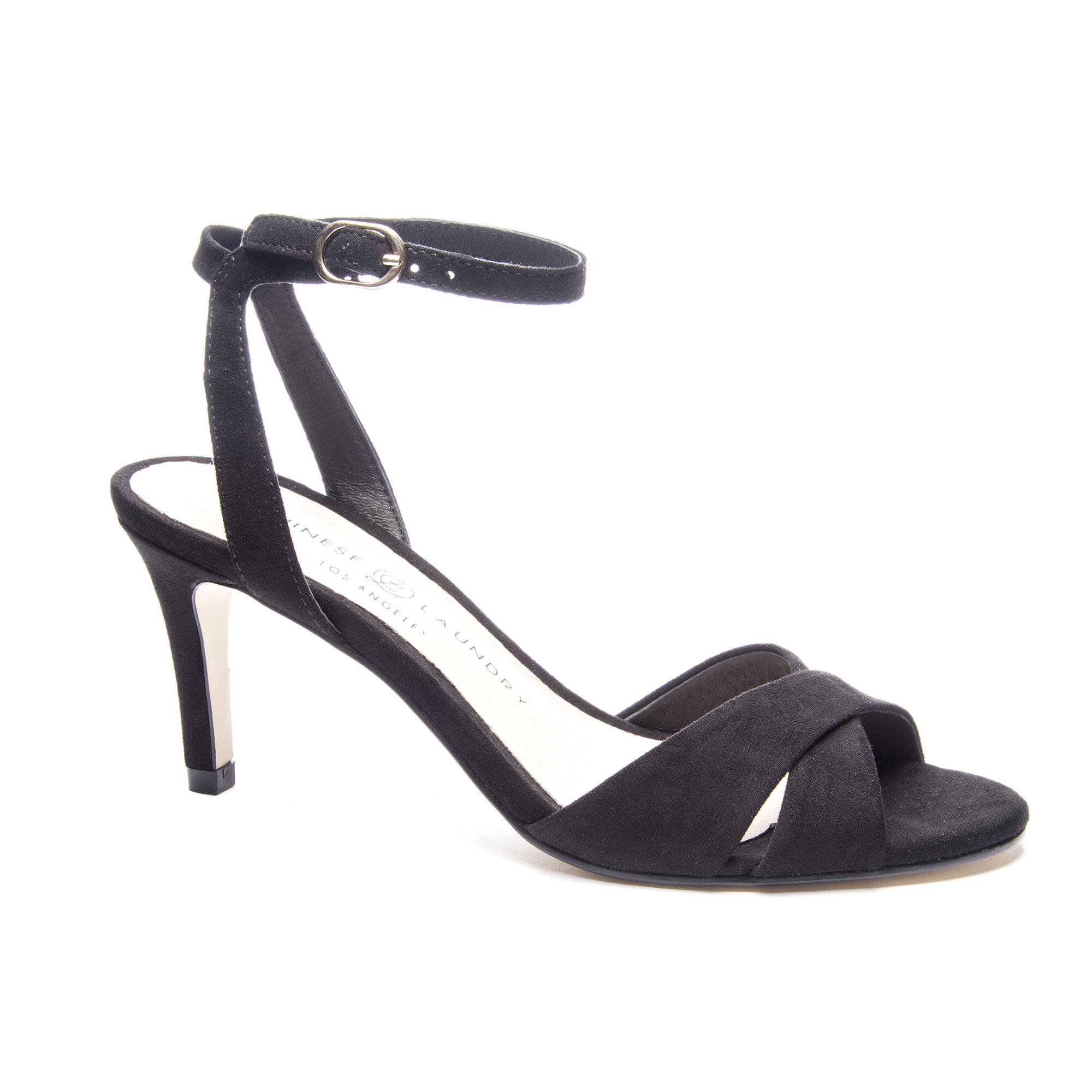 8fb1f76abff6 Lyst - Chinese Laundry Rosita Ankle Strap Sandal in Black